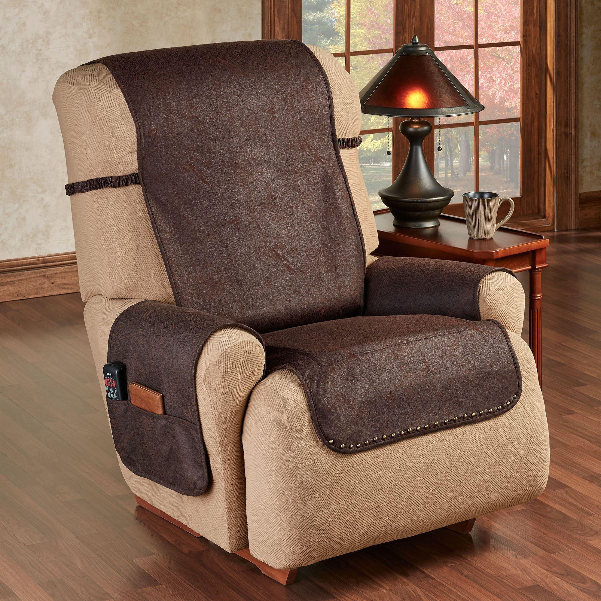 Stonehill Chocolate Slip Resistant Recliner Furniture