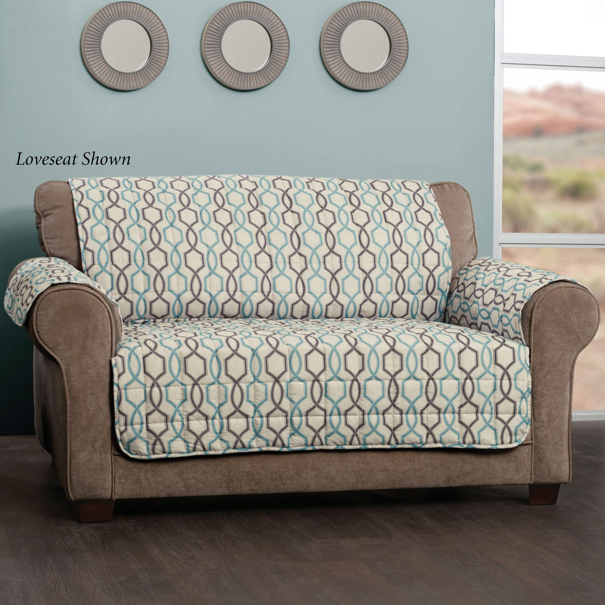 Impulsive Patterned Quilted Furniture Protectors ~ Sofa Furniture Protectors