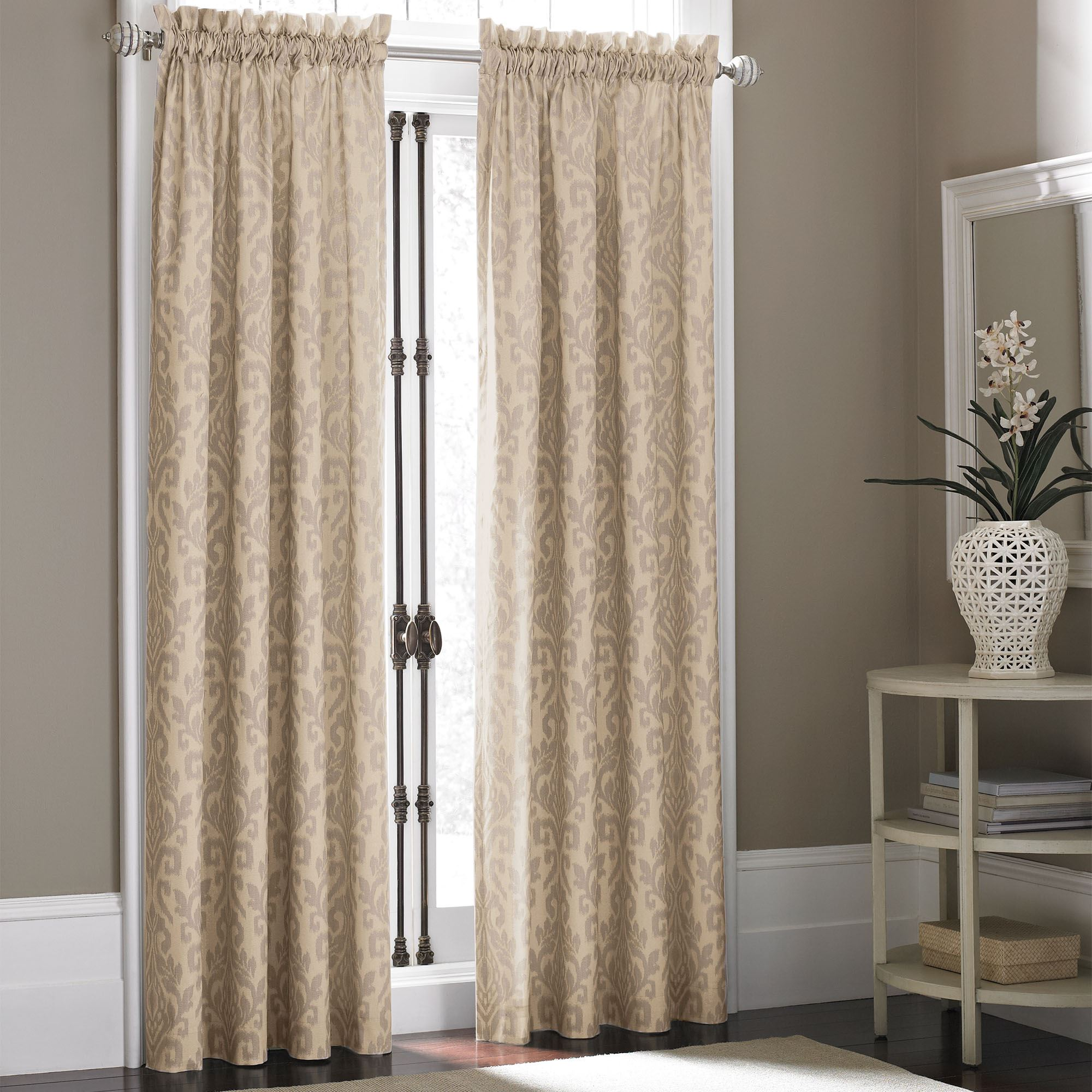 Touch To Zoom Takin Ikat Curtain Panel