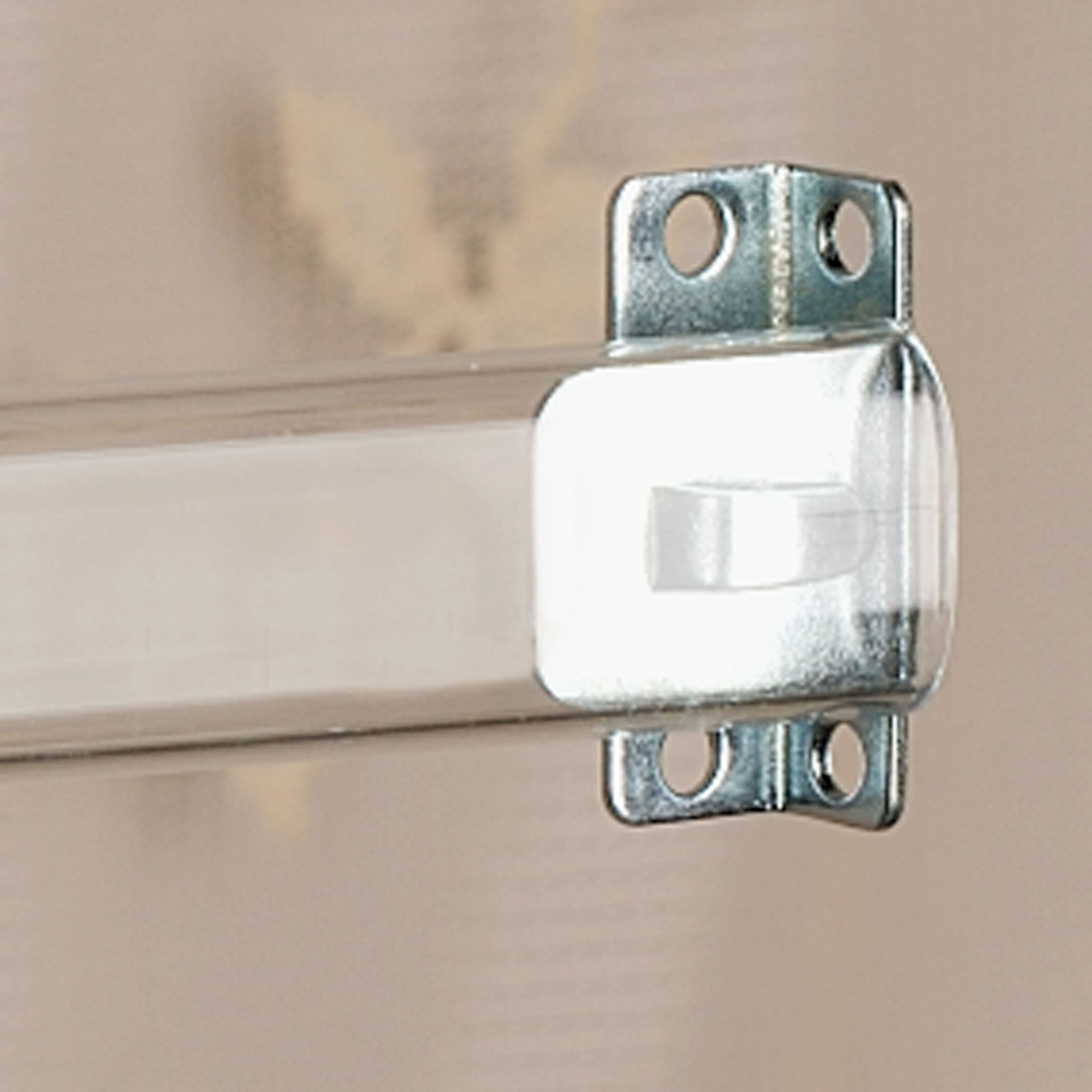 Clear sash curtain rods - Clear Sash Curtain Rod Set Clear