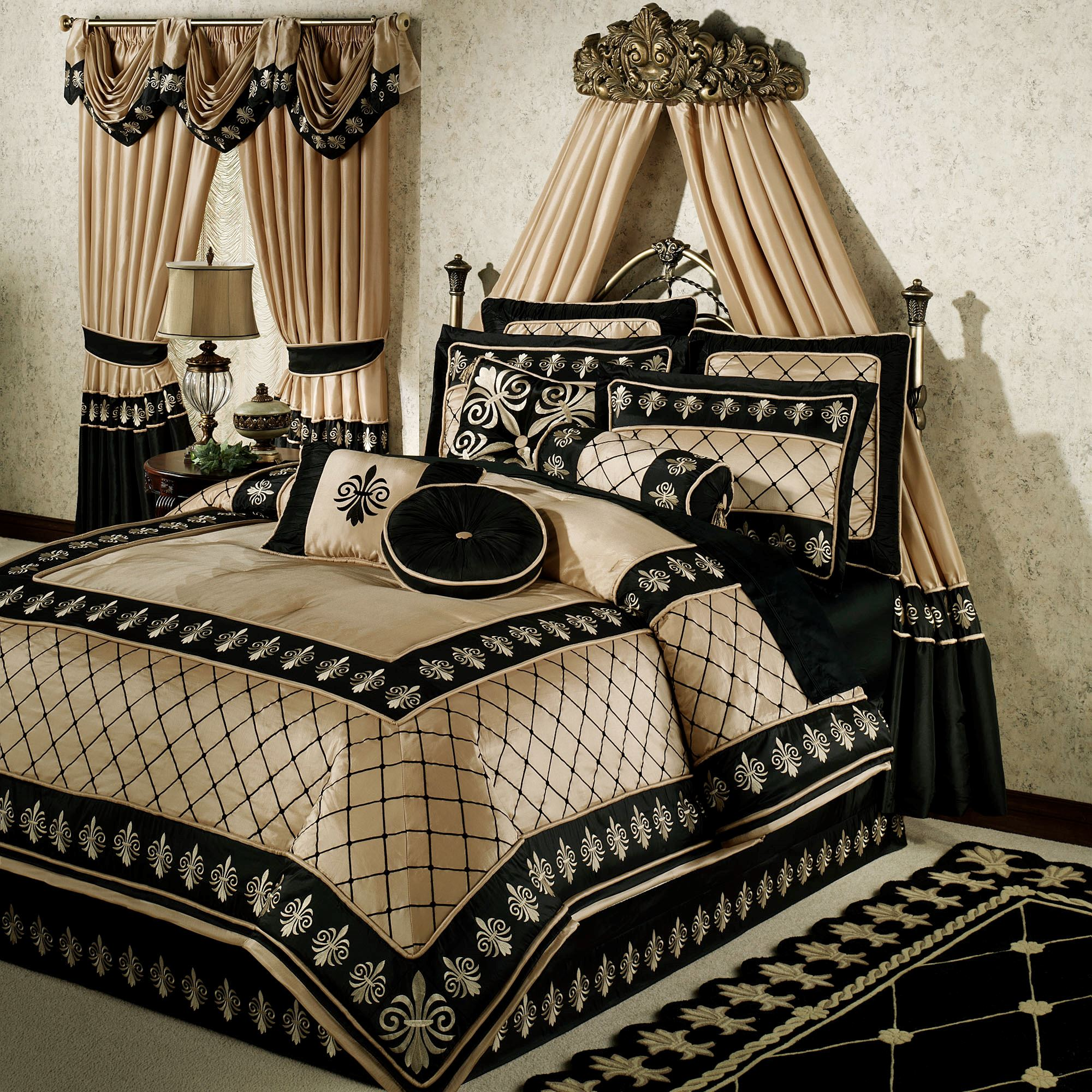 Onyx Empire Comforter Set & New Traditional Comforters | Touch of Class