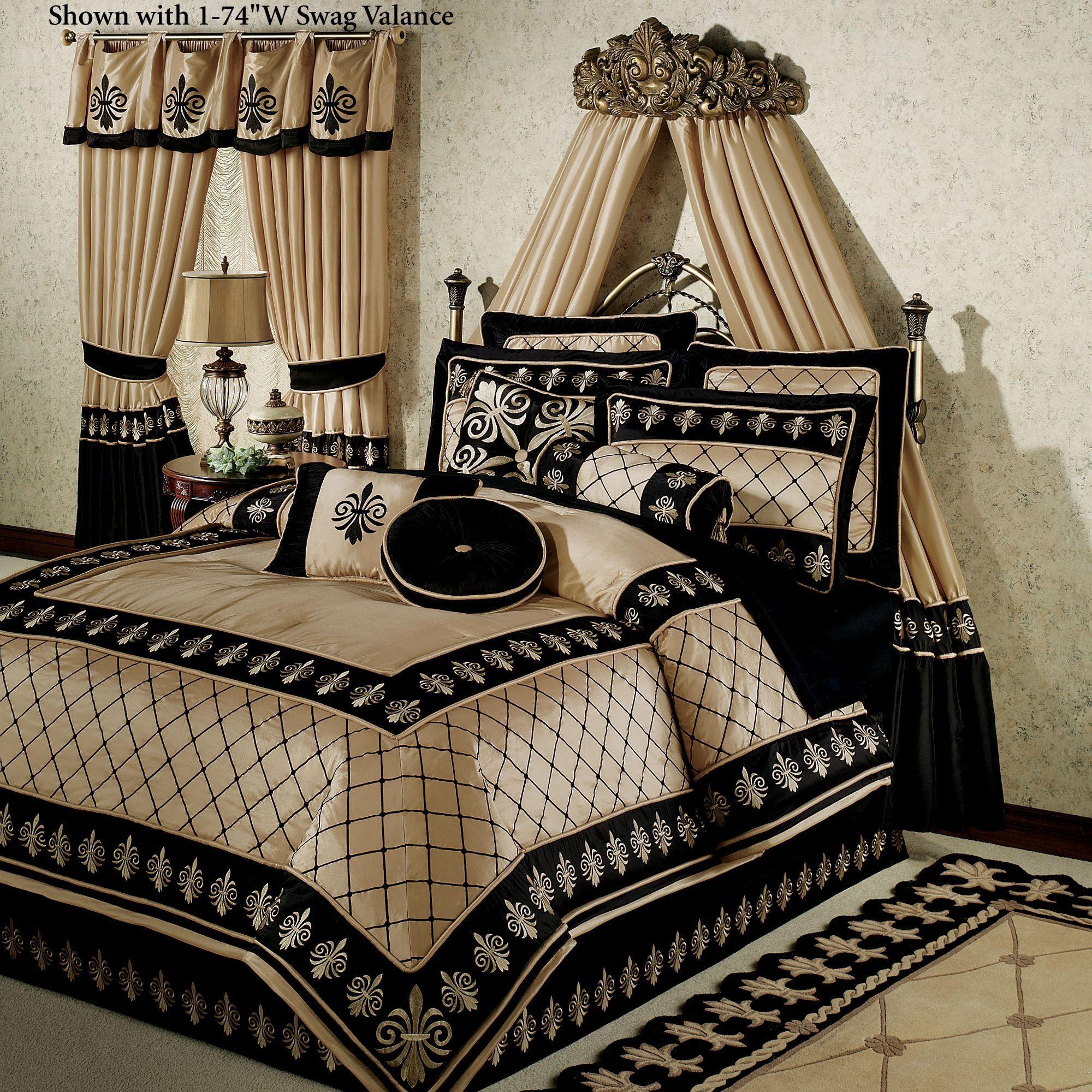 Onyx Empire Comforter Bedding