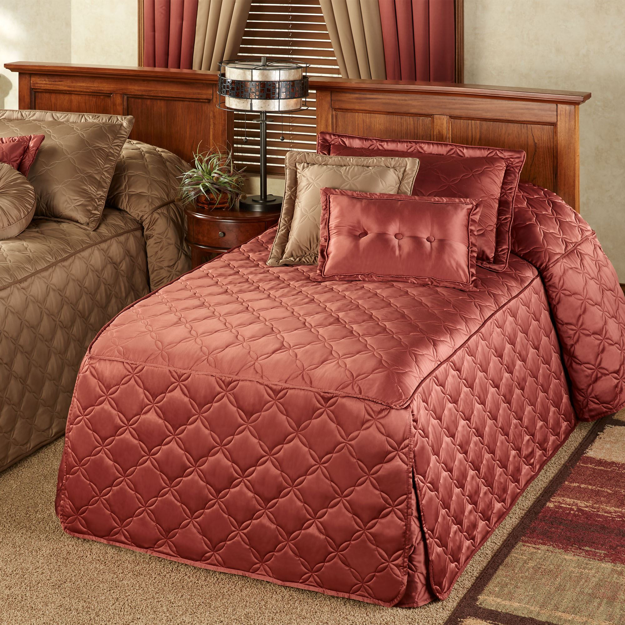 Color Classics(R) Quilted Fitted Bedspreads : twin quilts and bedspreads - Adamdwight.com