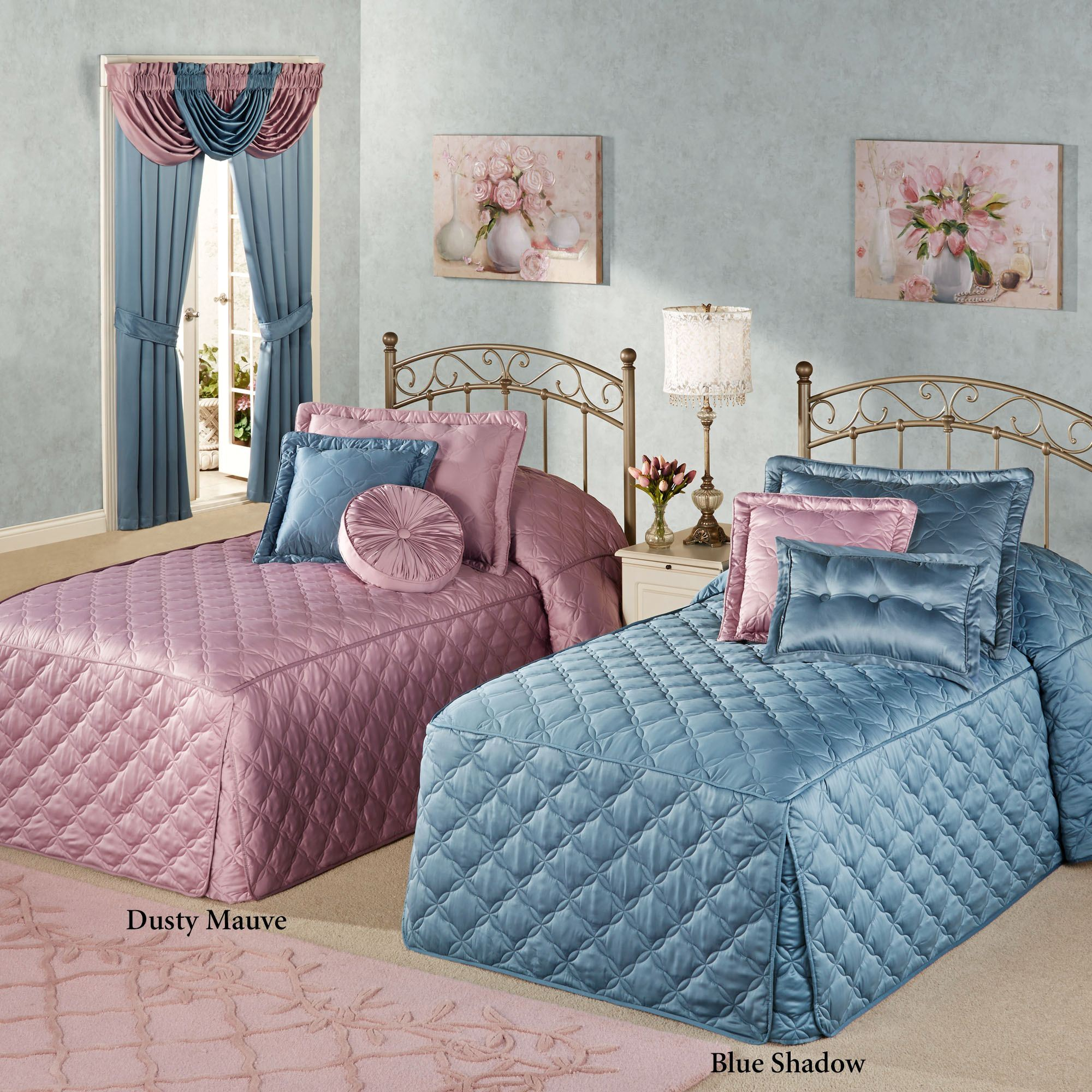 Color Classics R Quilted Fitted Bedspreads