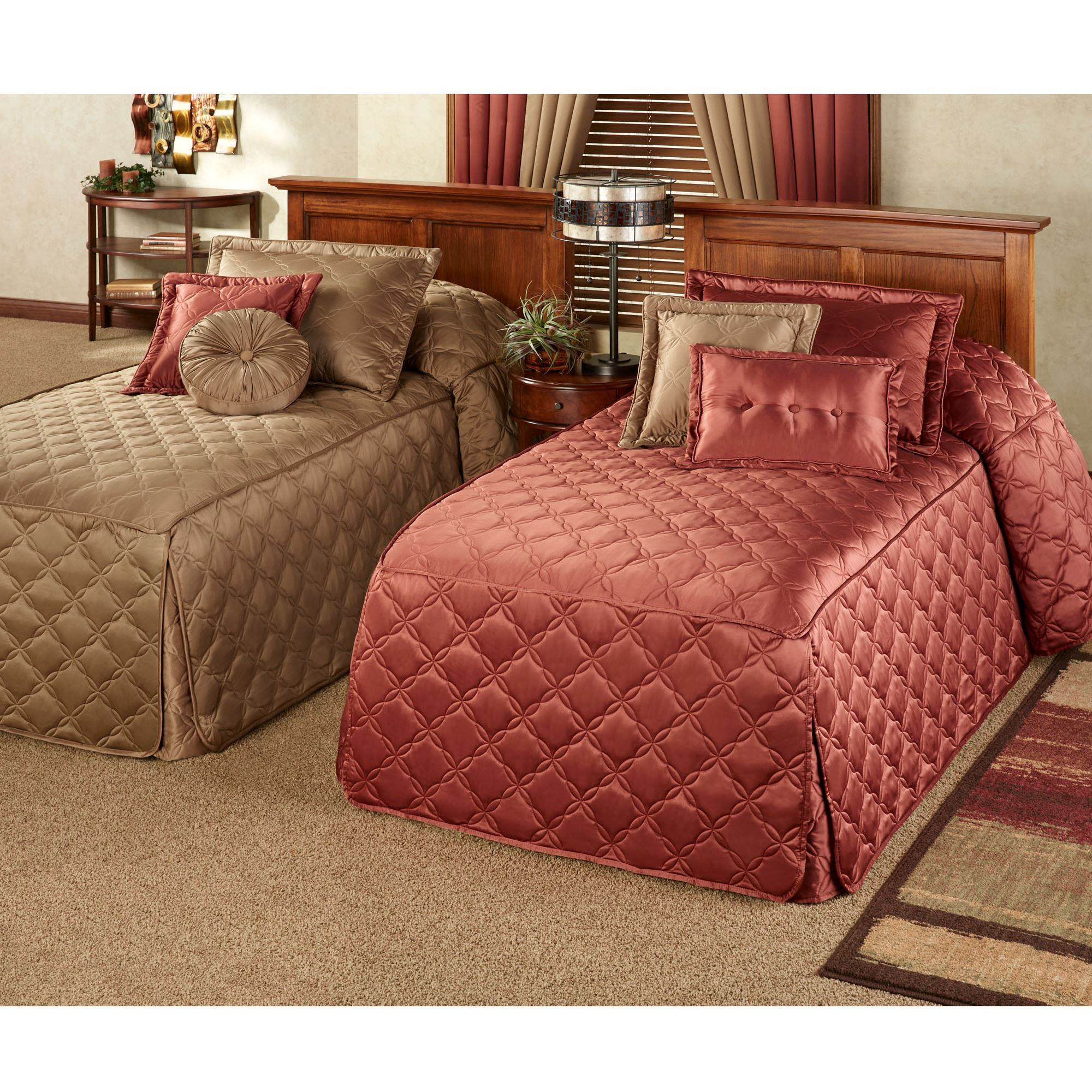 Color Classics(R) Quilted Fitted Bedspreads : fitted quilted bedspreads - Adamdwight.com