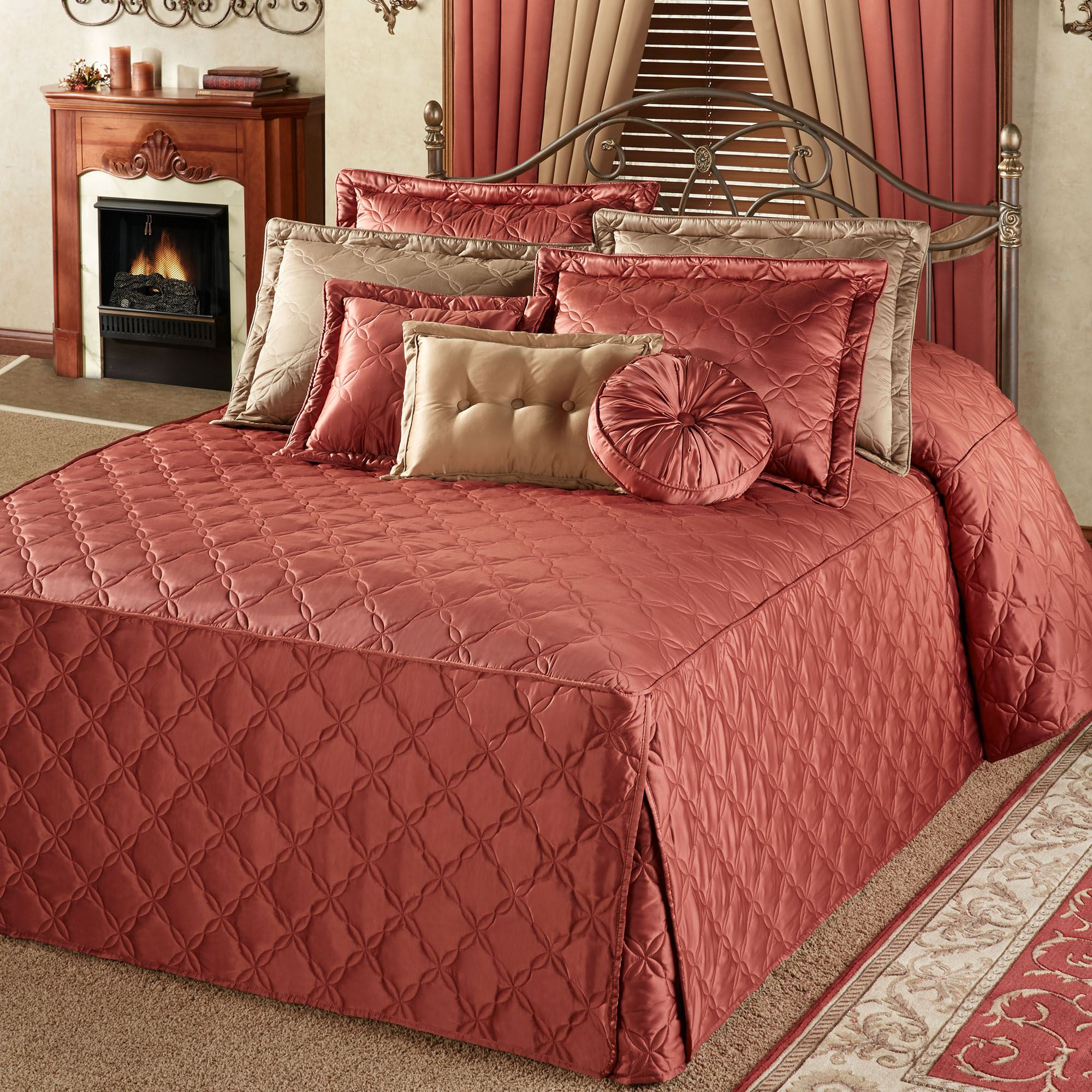 Color Classics R Oversized Fitted Bedspread