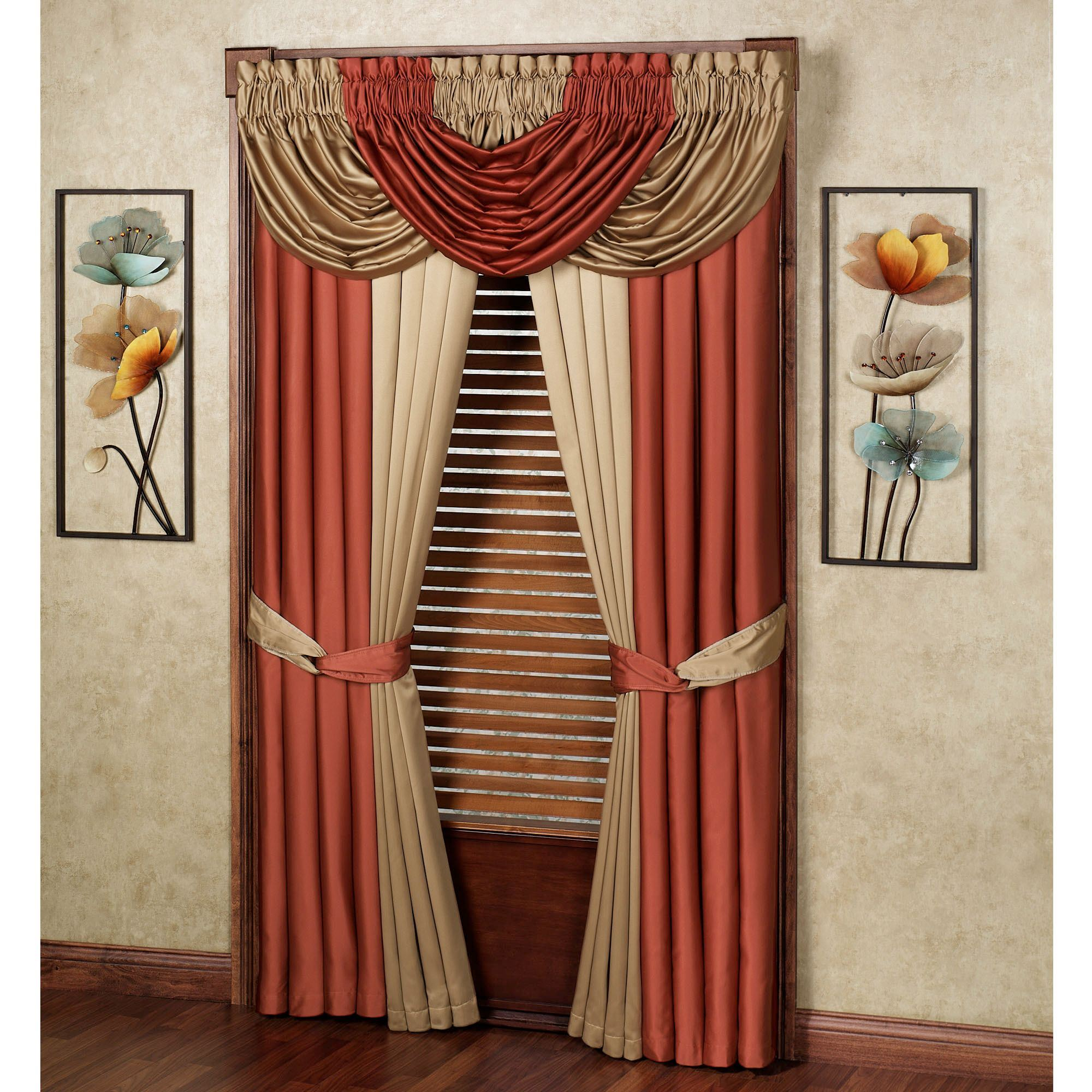 window home valances classics and x waterfall pin r hang color how valance treatments to