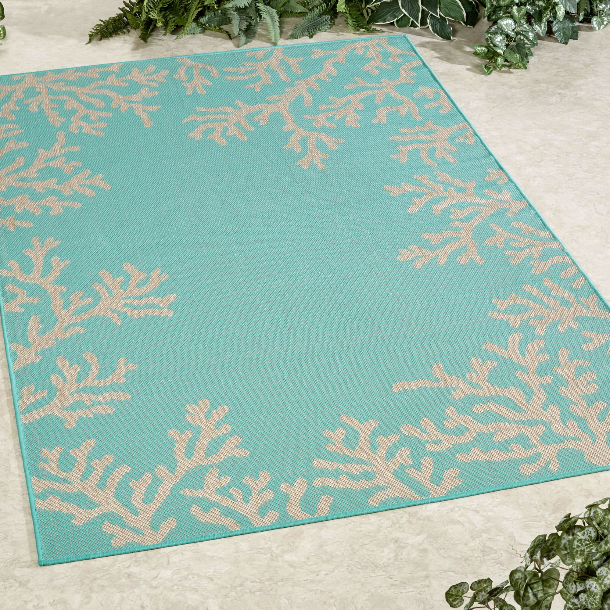 Barrier Reef Indoor Outdoor Rugs by Liora Manne