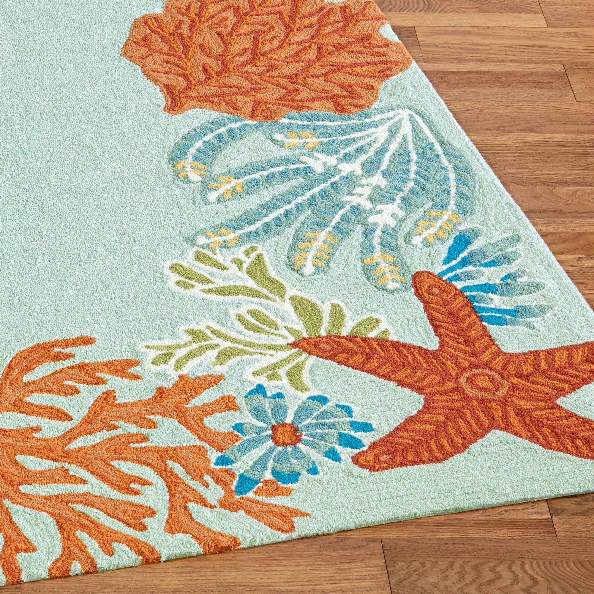Ocean Scene Indoor Outdoor Area Rugs by Liora Manne