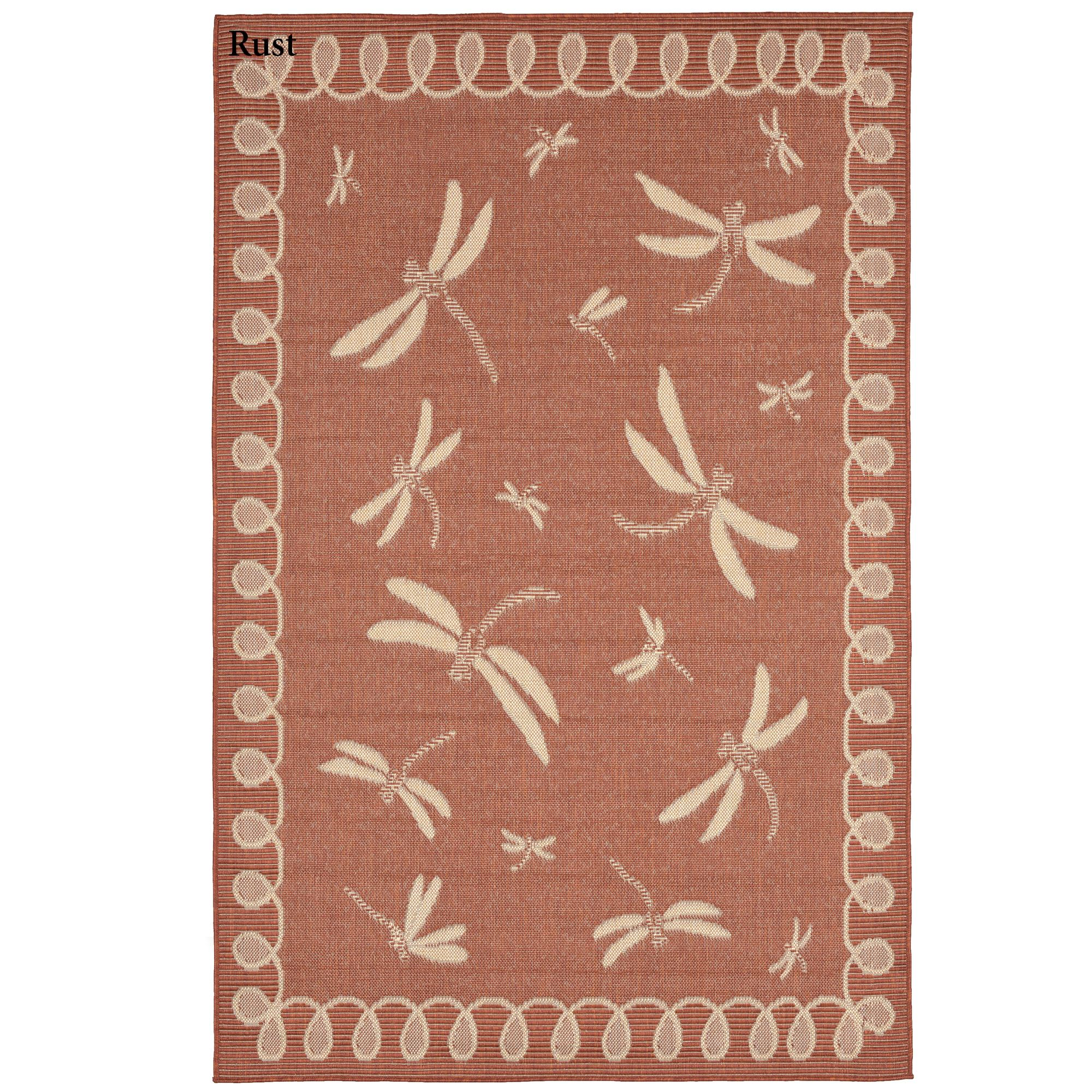 Dragonfly Flight Indoor Outdoor Area Rugs By Liora Manne