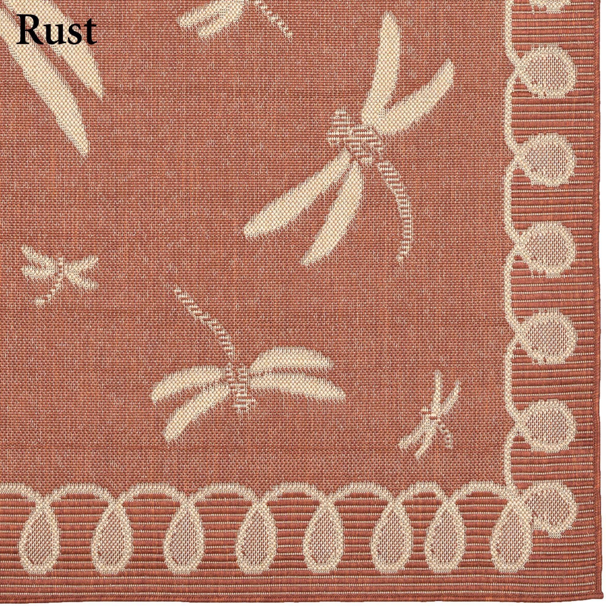 Dragonfly Flight Rug Runner 1 11