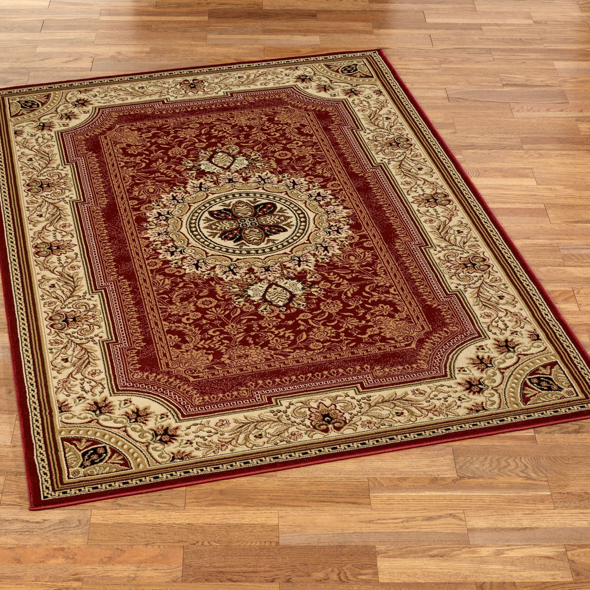 Brand-new Chateau Traditional Medallion Area Rugs HN52