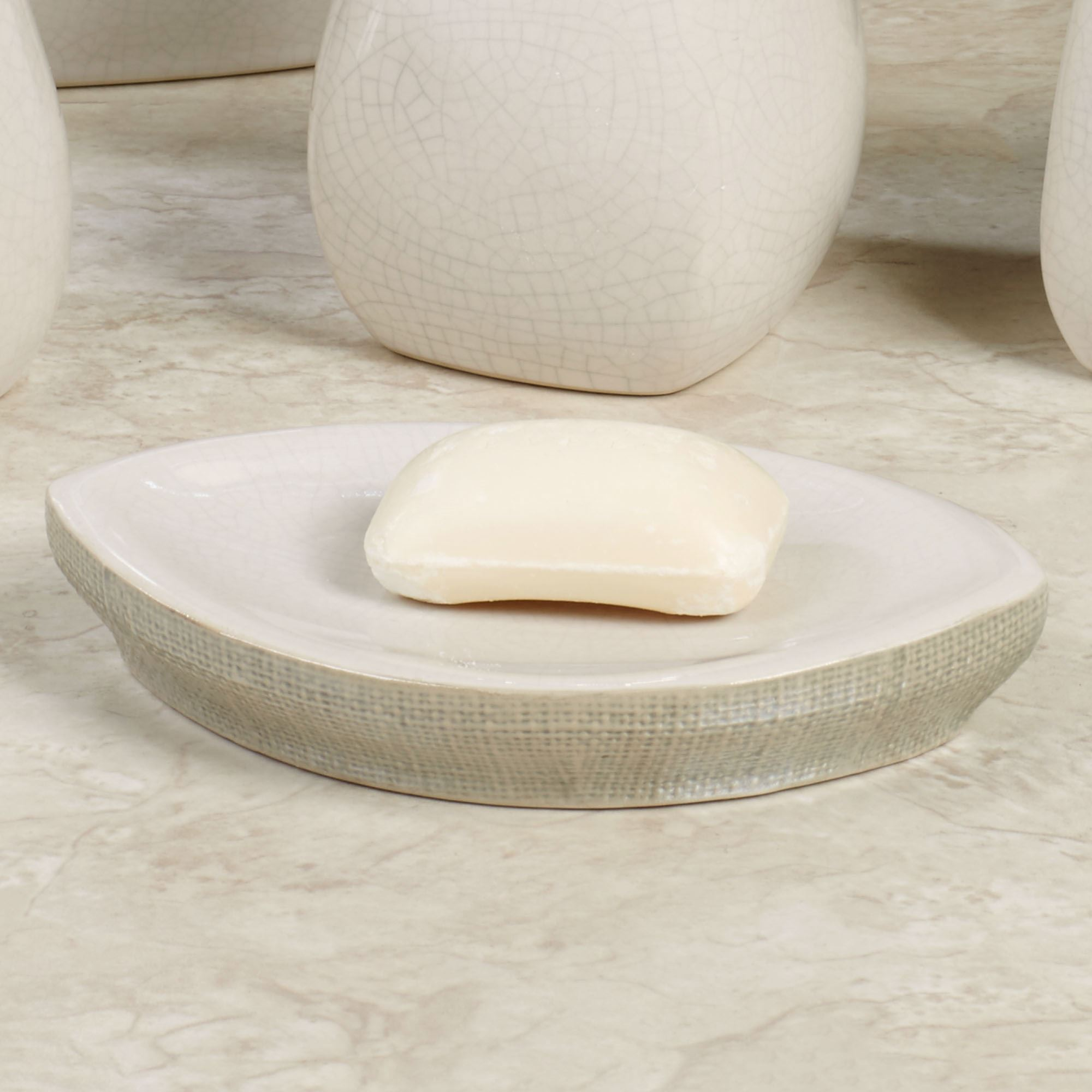 South Hampton Soap Dish Pearl