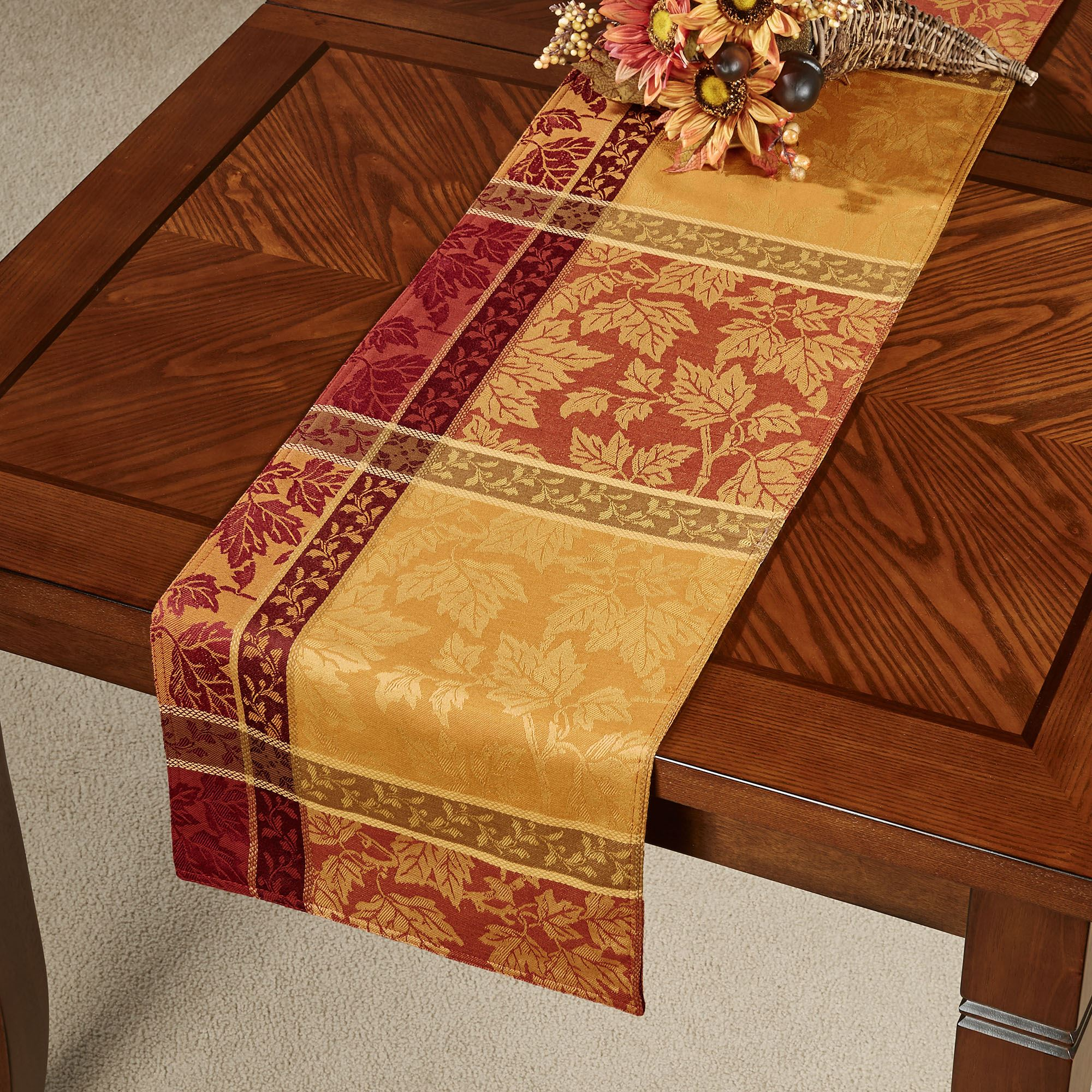 Gentil Montvale Table Runner Multi Warm 14 X 70