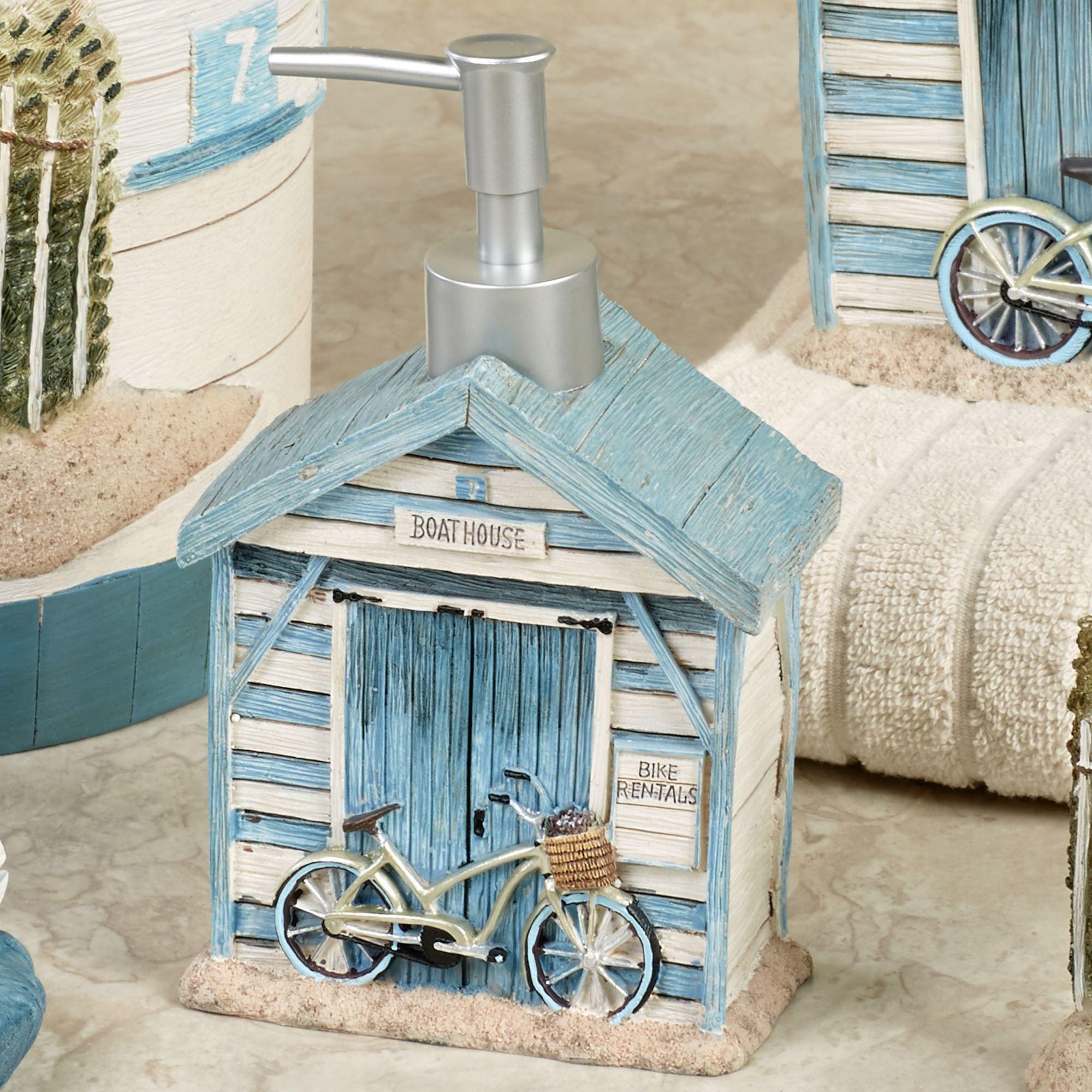 Beach Cruiser Lotion Soap Dispenser Sky Blue