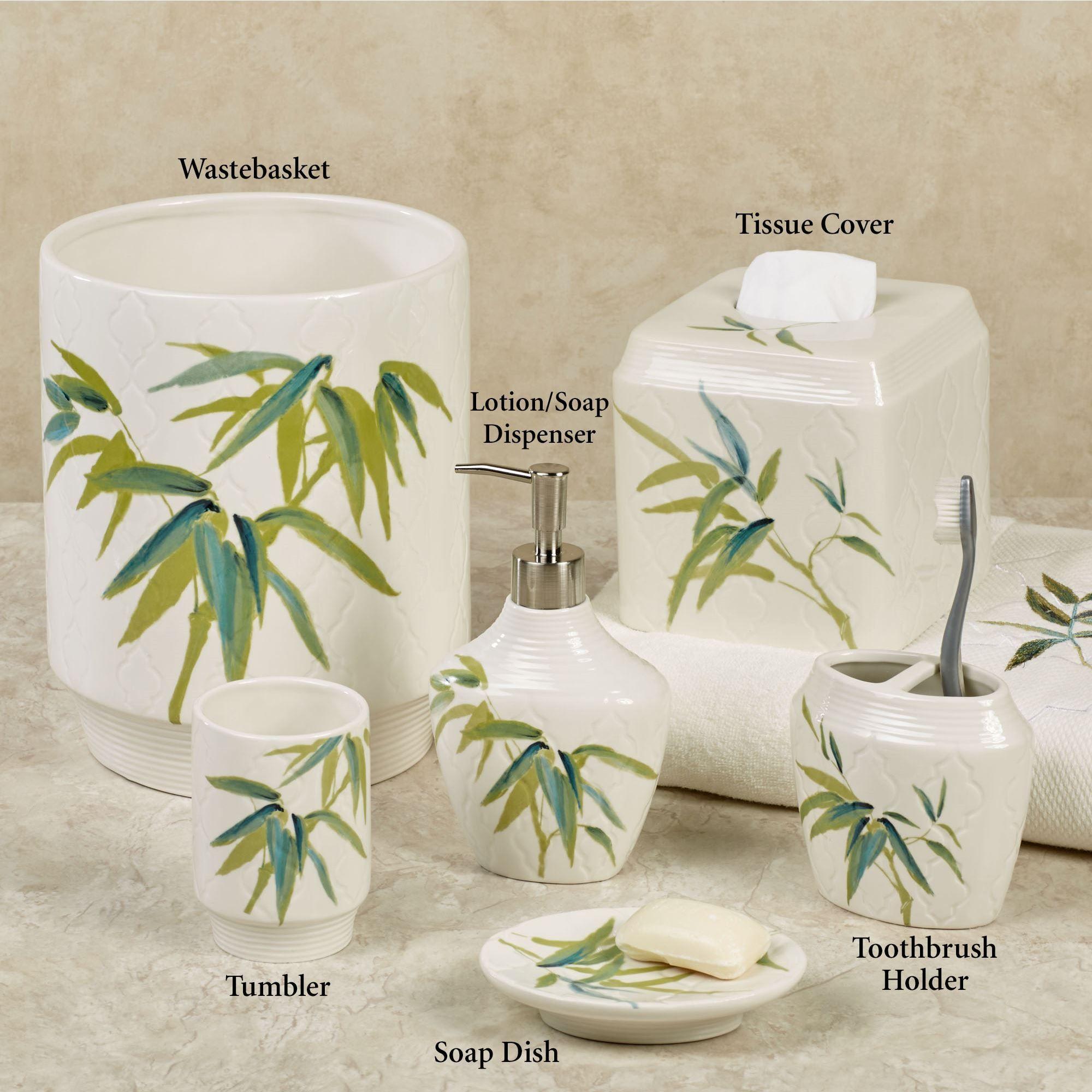 Zen Bamboo Bath Accessories
