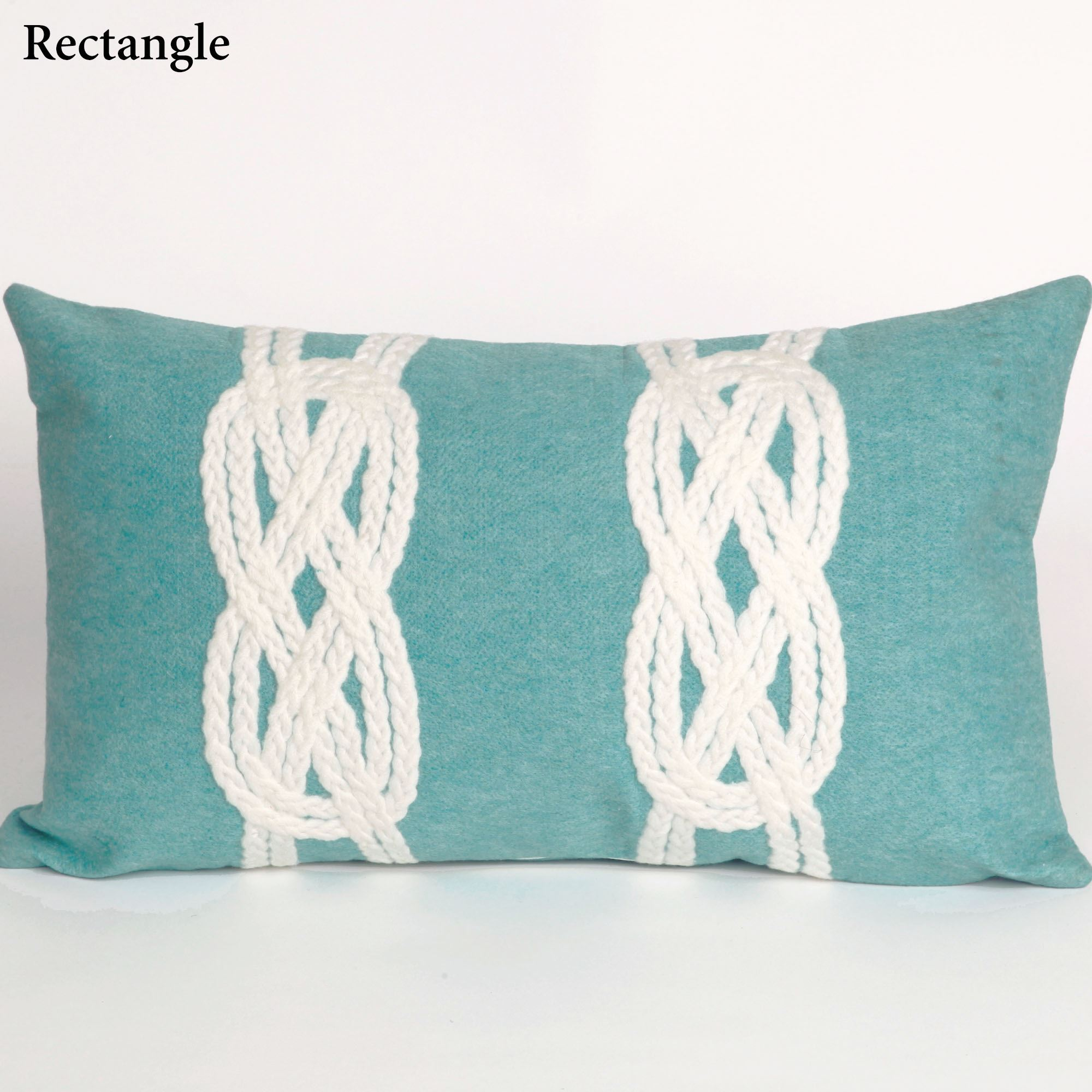 Double Knot Indoor Outdoor Pillow by Liora Manne