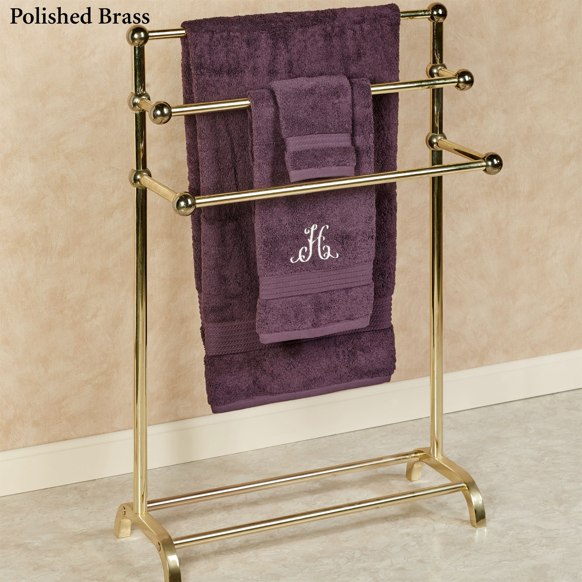 Three Tier Towel Rack