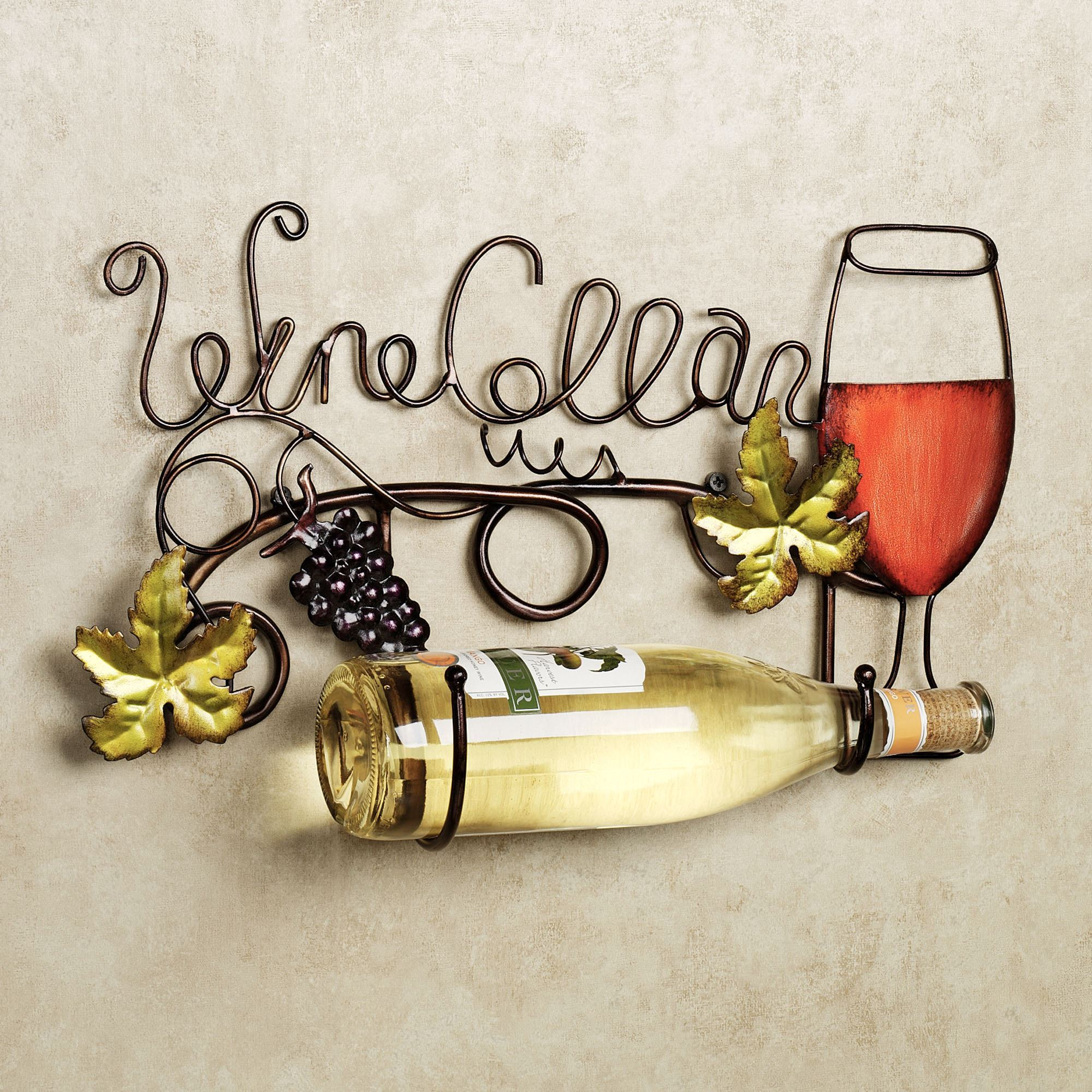 Wine Cellar Metal Wall Wine Bottle Holder