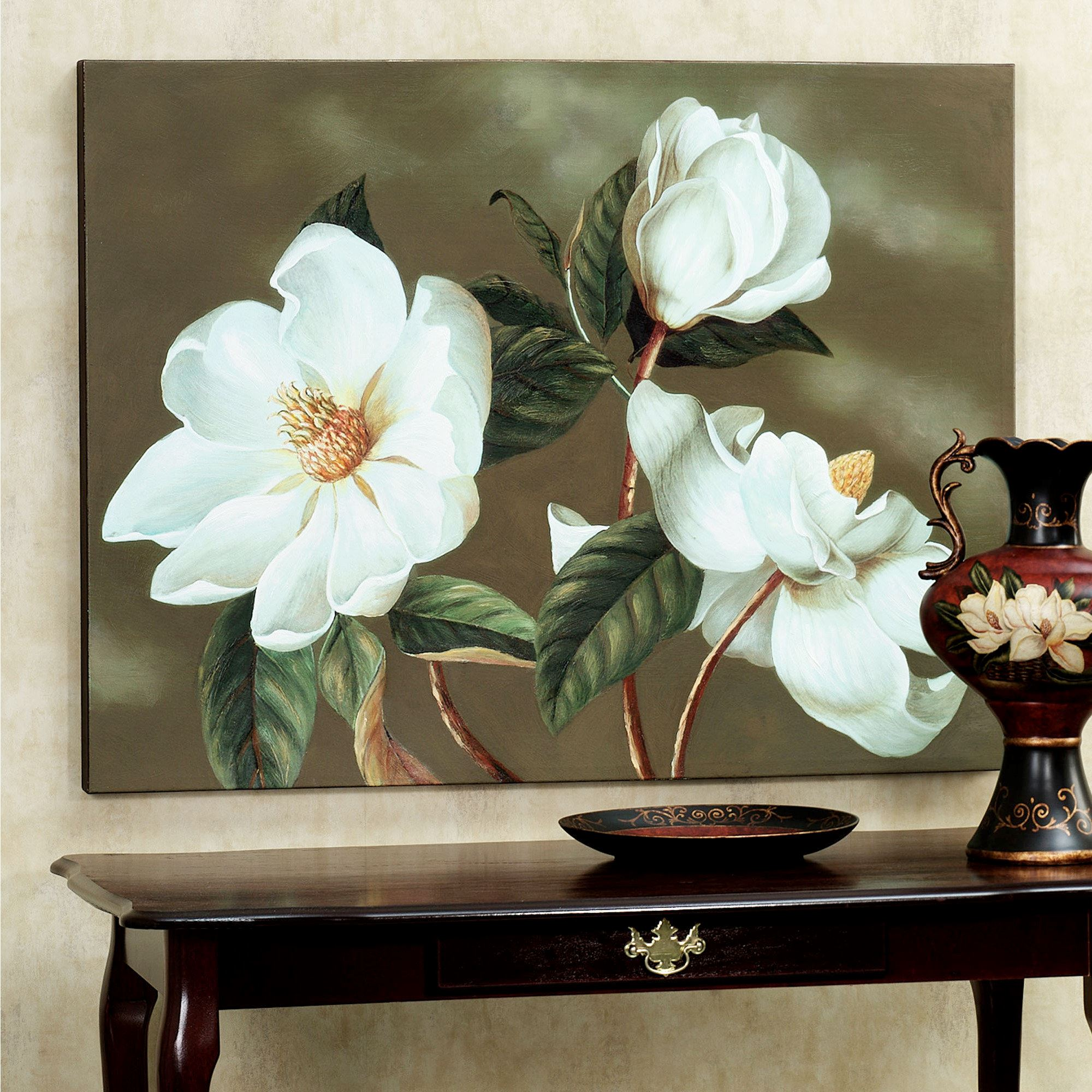 Magnolia Symphony Canvas Art
