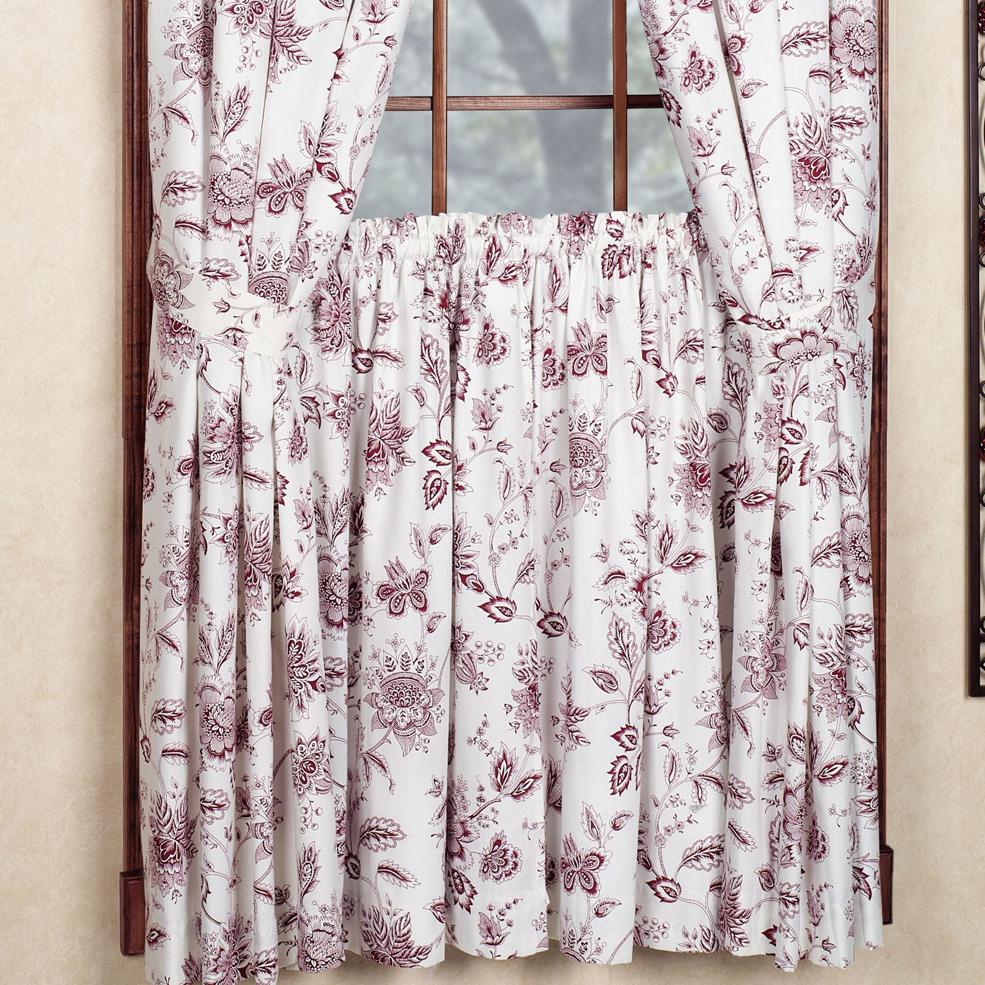 Winston Short Length Curtain Pair 68 X 63