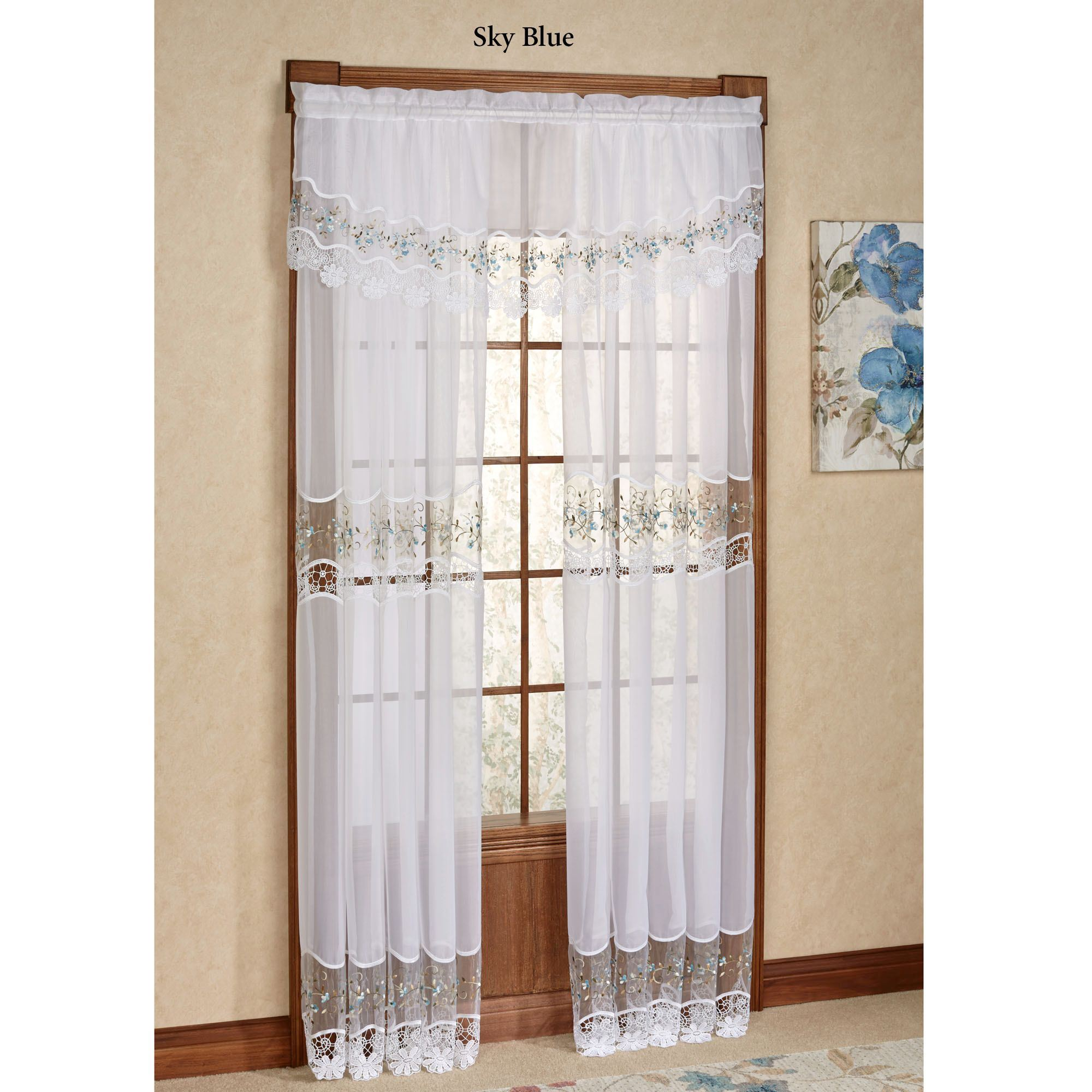 Vintage Sheer Curtains