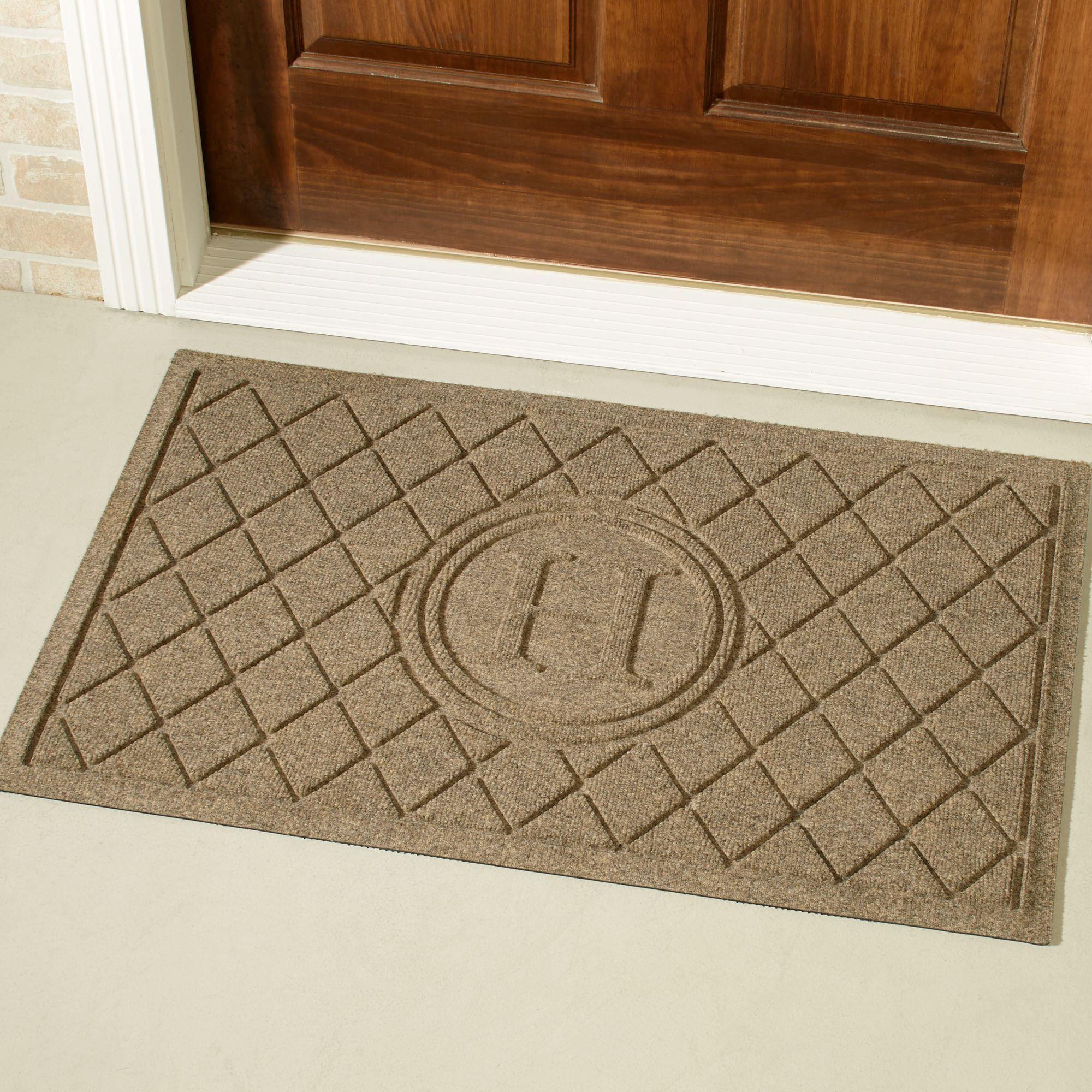 Personalized Monogram Doormat