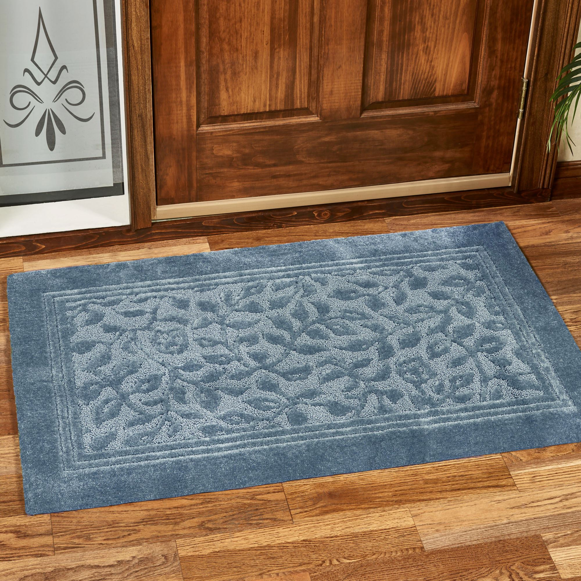 Wellington Super Soft Nylon Bath Rug Click To Expand