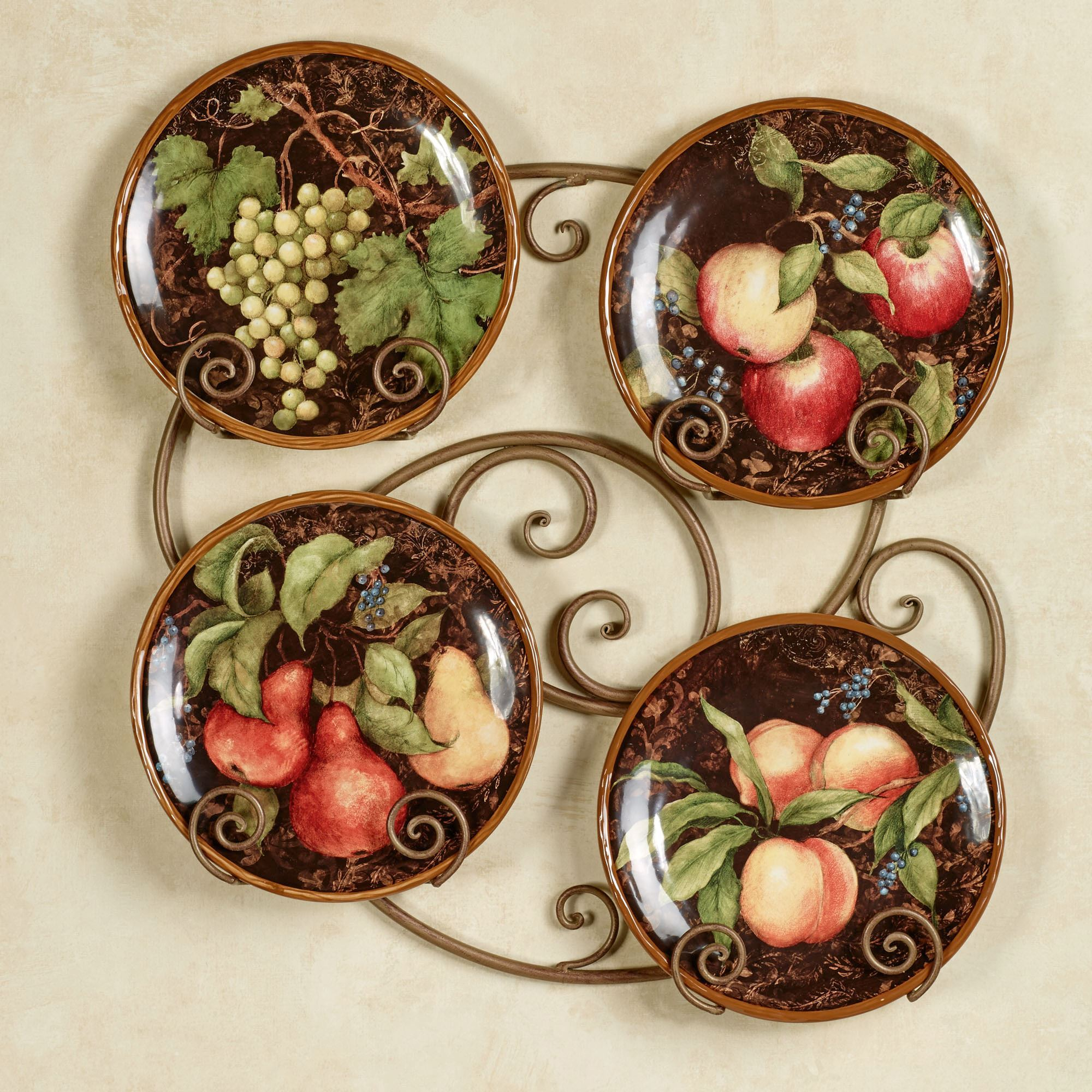 Decorative Plates For Kitchen Wall Magnificent Kitchen And Dining Room Wall  Decor Touch Of Class Inspiration