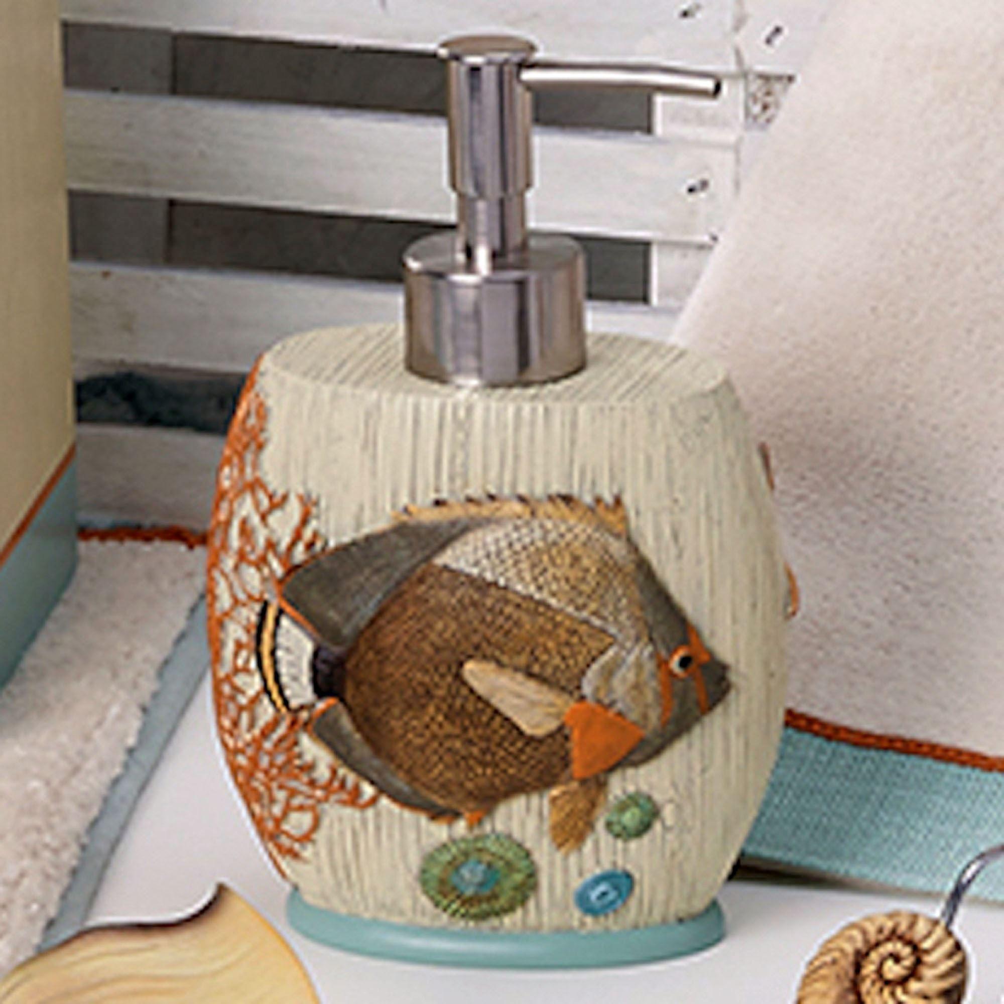 seaside vintage lotion soap dispenser cream - Bathroom Accessories Vintage