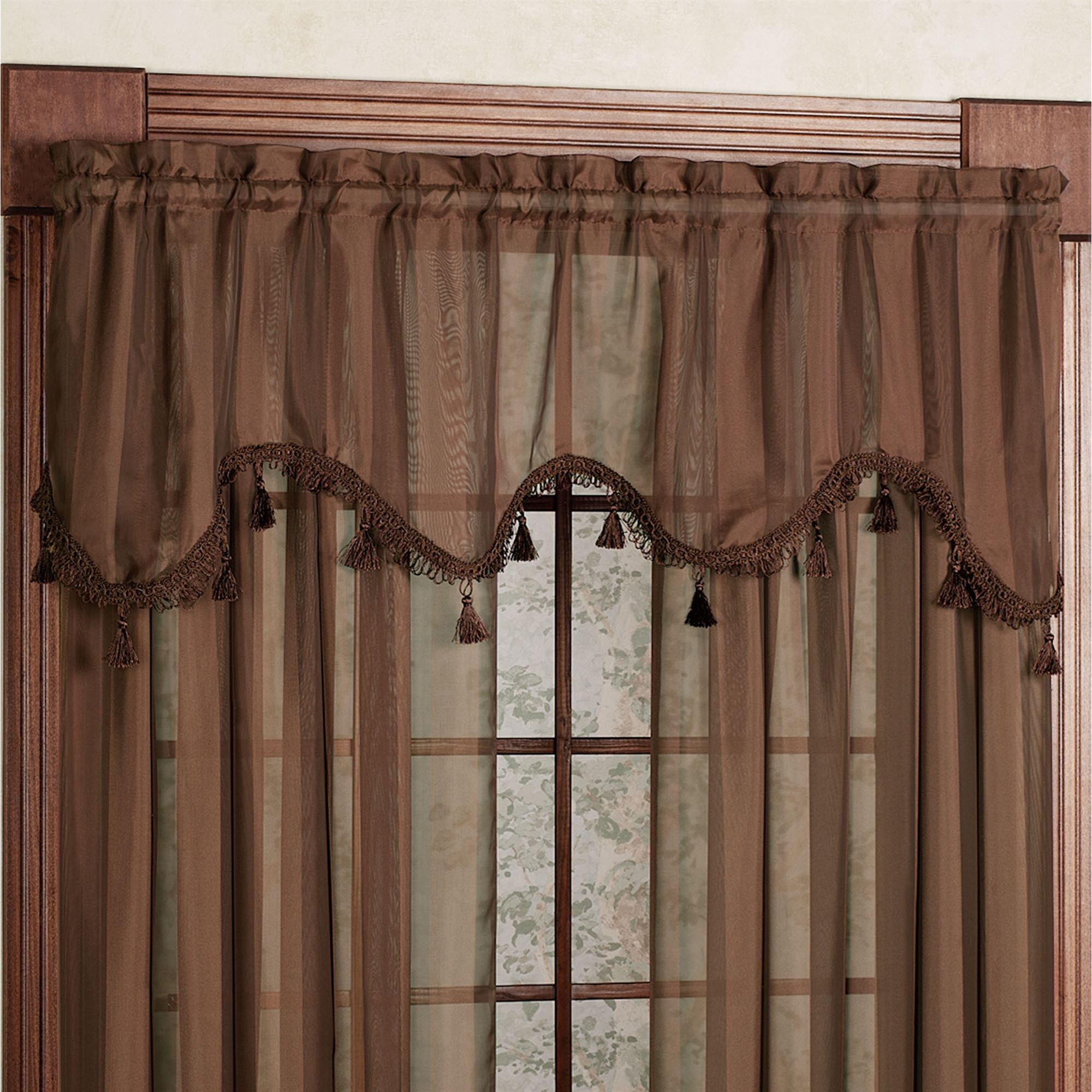 sheer voile products valances valance and tier zoom international pair h swag c