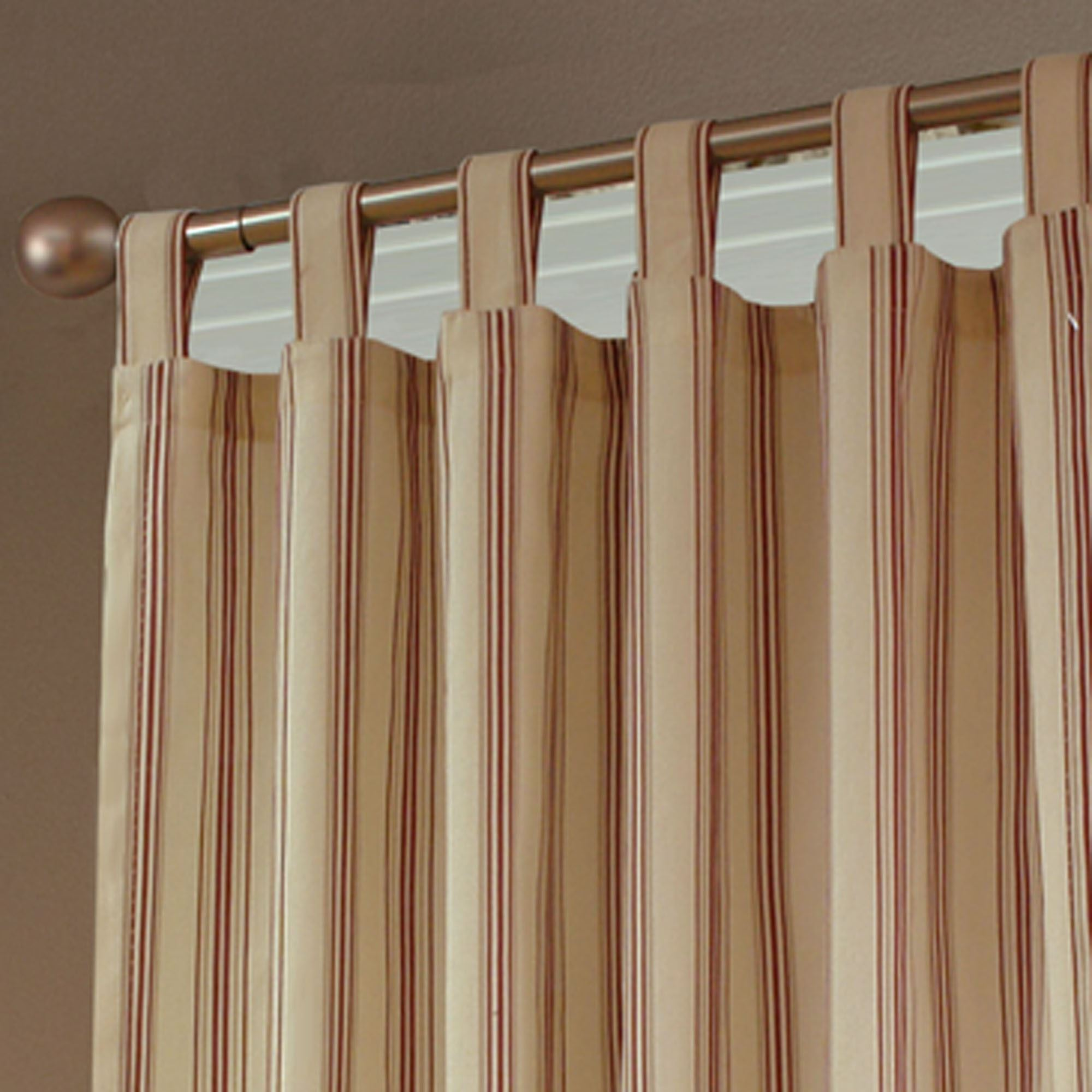 Weathermate Stripe Thermalogic(TM) Tab Top Curtains