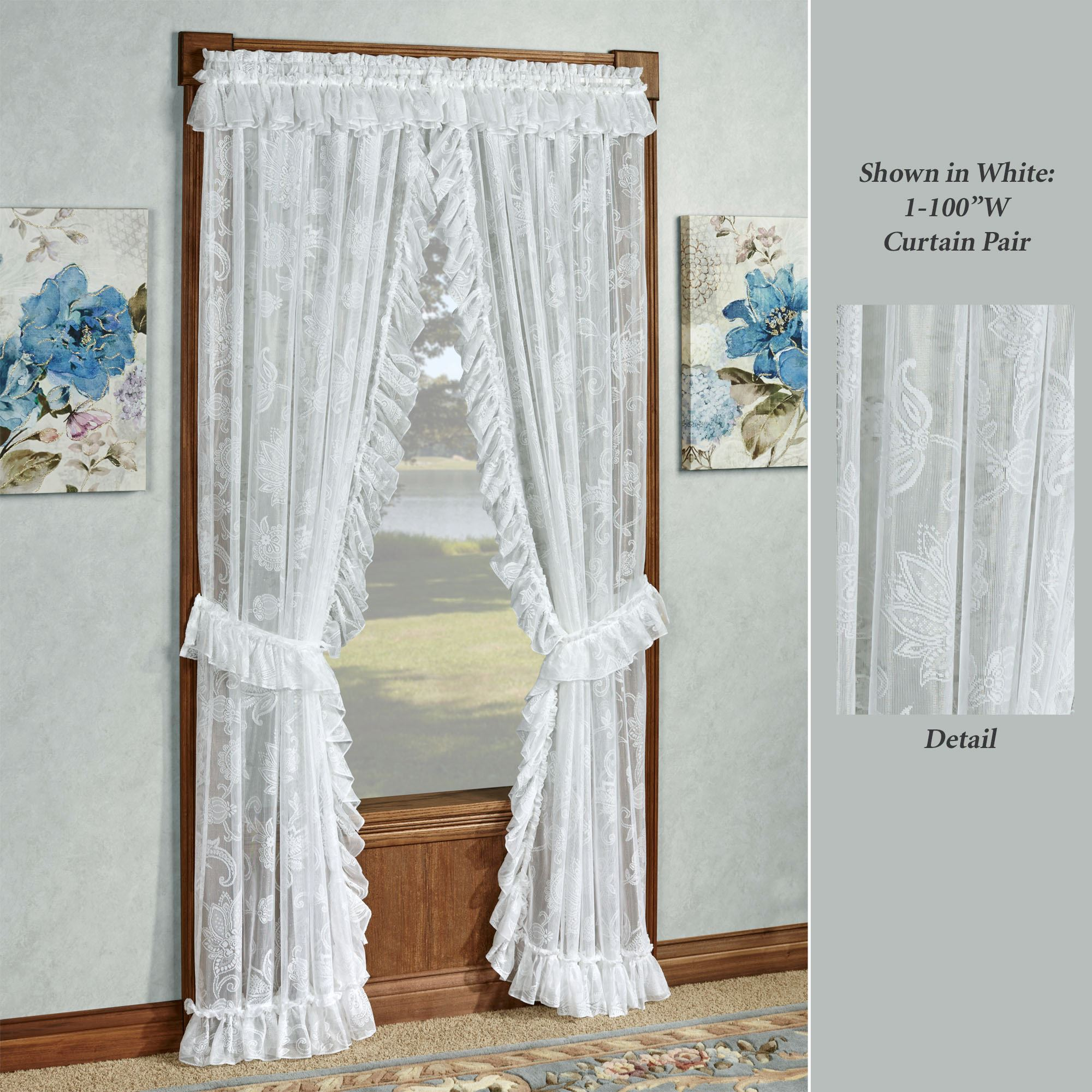 Maison Priscilla Curtain Pair Click To Expand