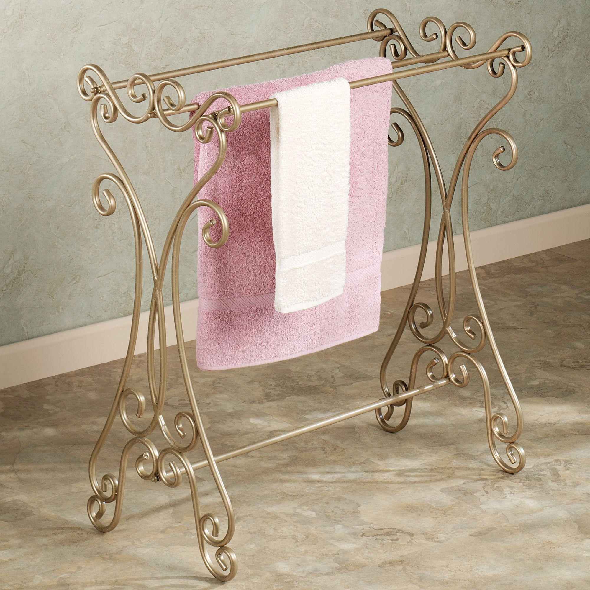 Gianna Blanket Rack Venetian Gold