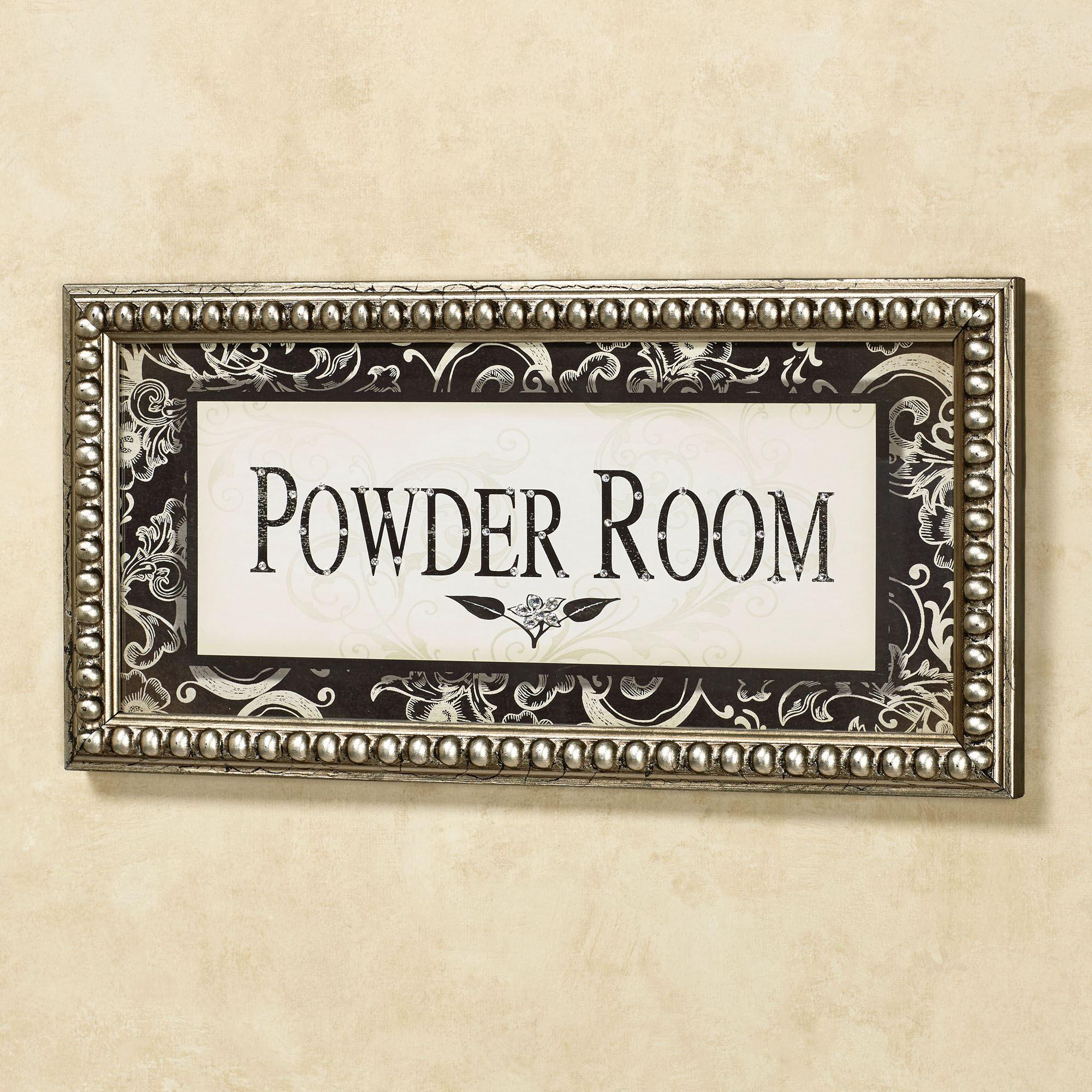 Powder Room Framed Wall Art
