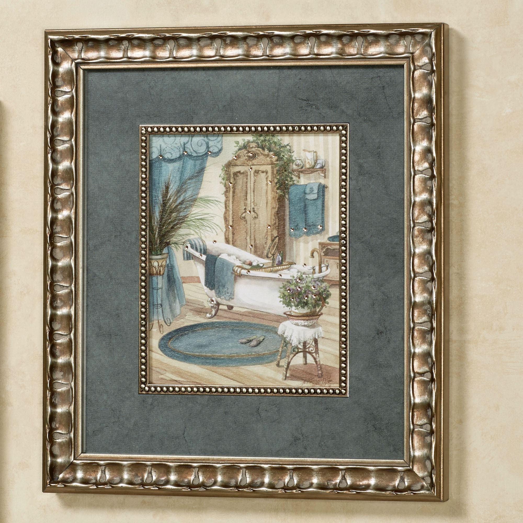 Victorian Bath II Framed Wall Art Multi Cool  sc 1 st  Touch of Class & Victorian Bath Framed Wall Art