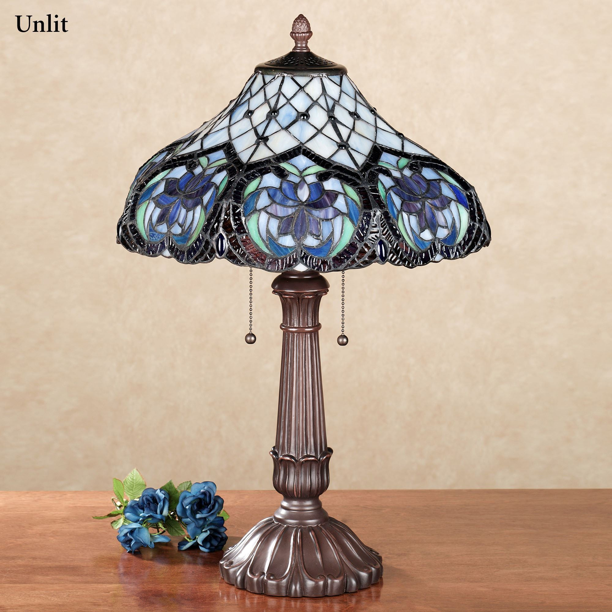 Lahela Stained Glass Table Lamp