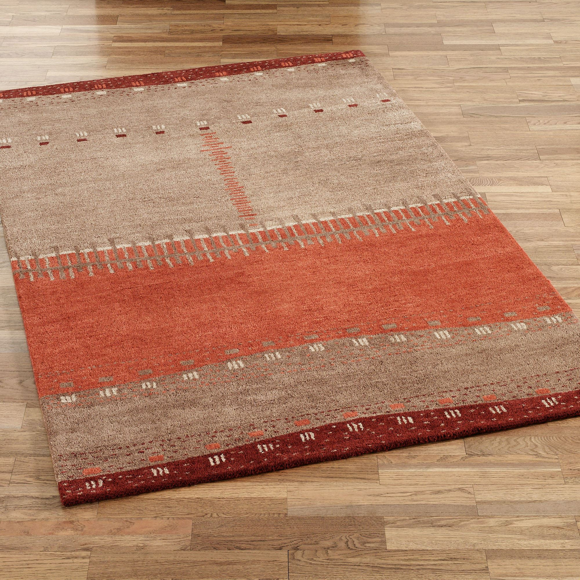 product lodge rug rugs farm area littlebranch bear creek southwestern red