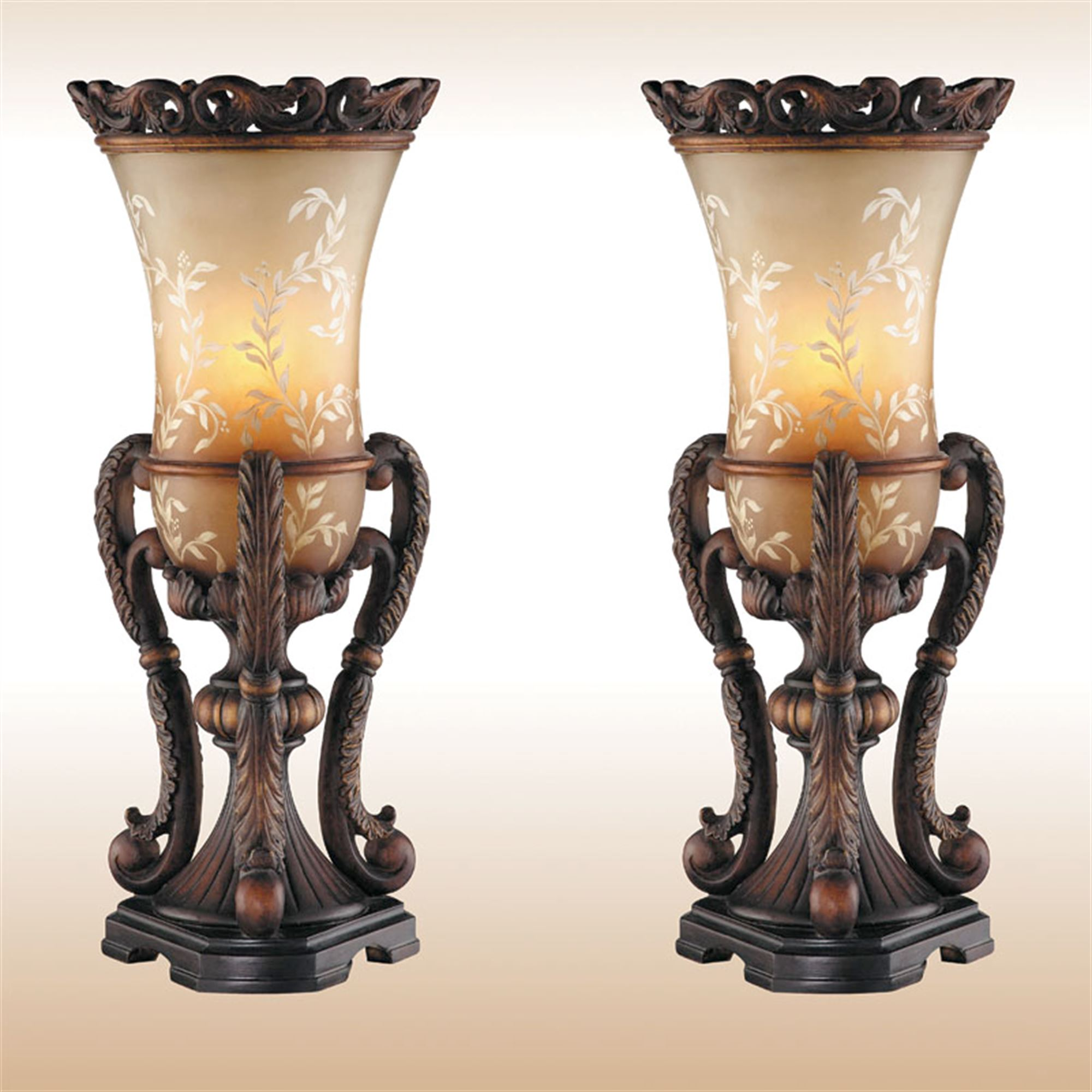 Chitrita Uplight Table Lamp Pair