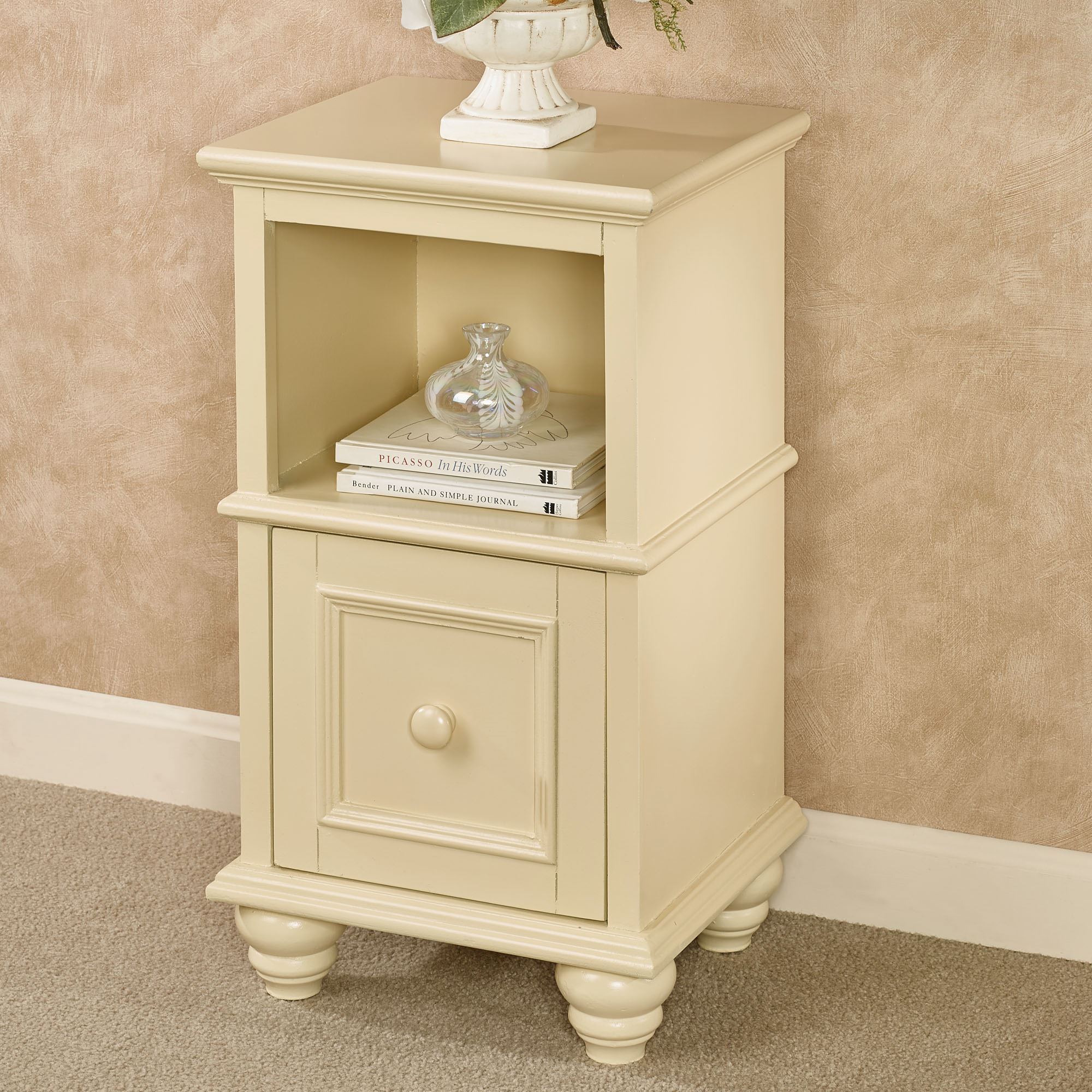 - McKale Factory Second Pale Yellow Accent Table