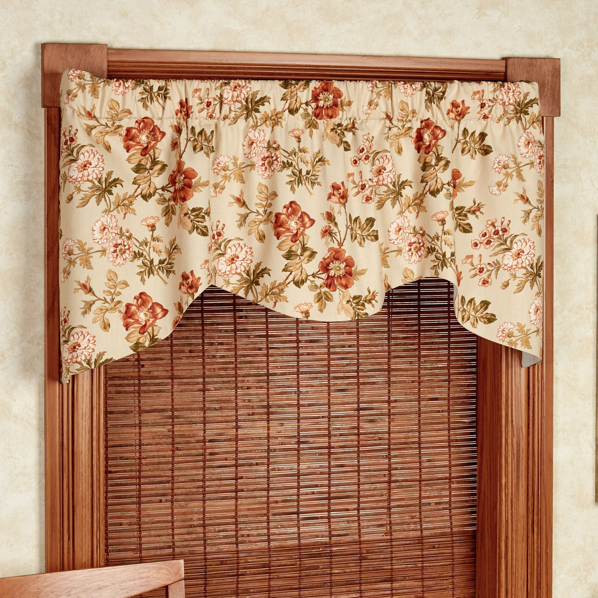 Pharrell Floral Shaped Window Valance