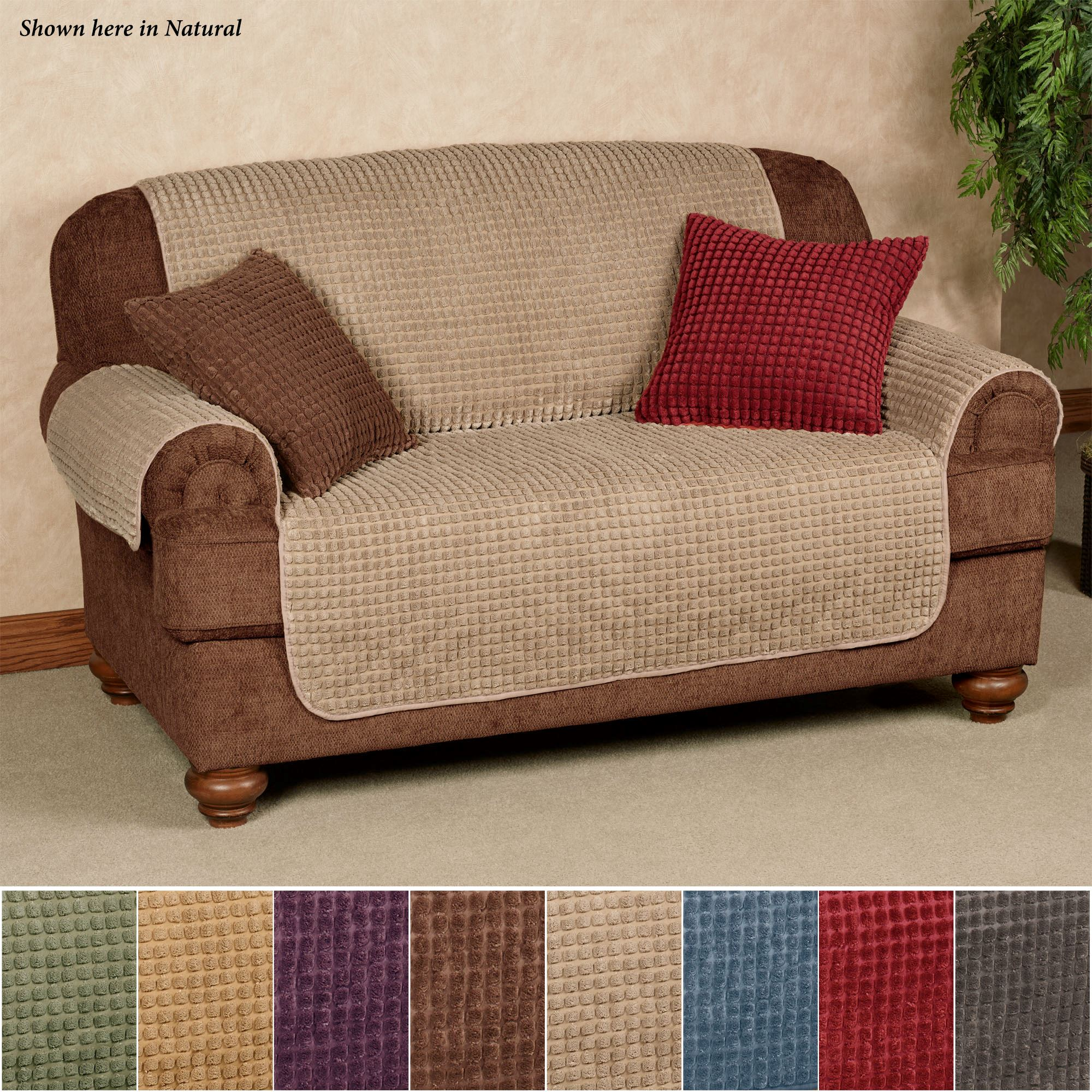 Premier Puff Loveseat And Sofa Furniture Protectors With Tuck Flaps