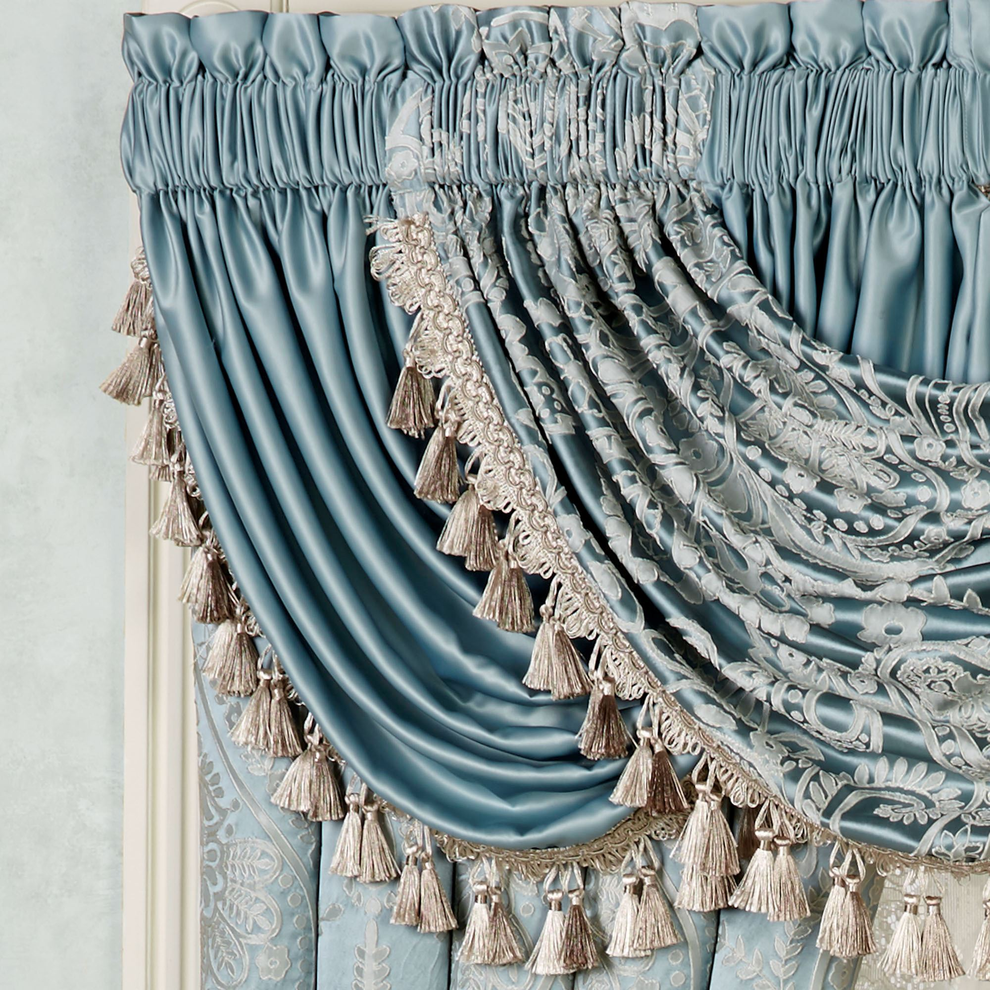 of waterfall valance class touch x hang expand click p versailles how to