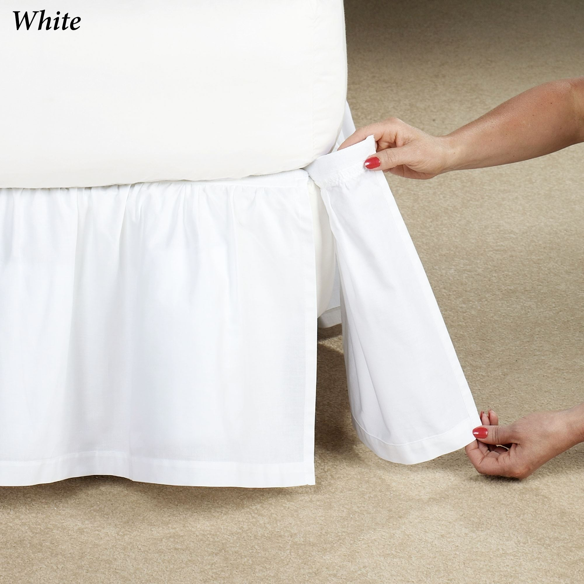 united states ever popular the latest Deanne Detachable Gathered Bedskirt