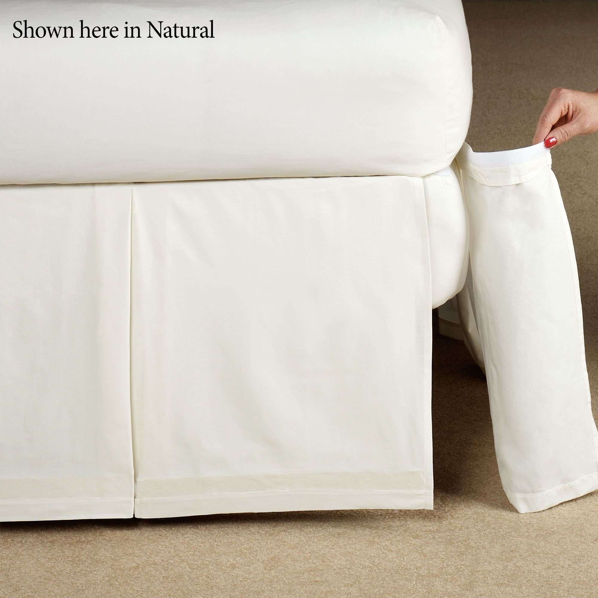 wholesale outlet good quality outlet online Delaney Detachable Pleated Bedskirt