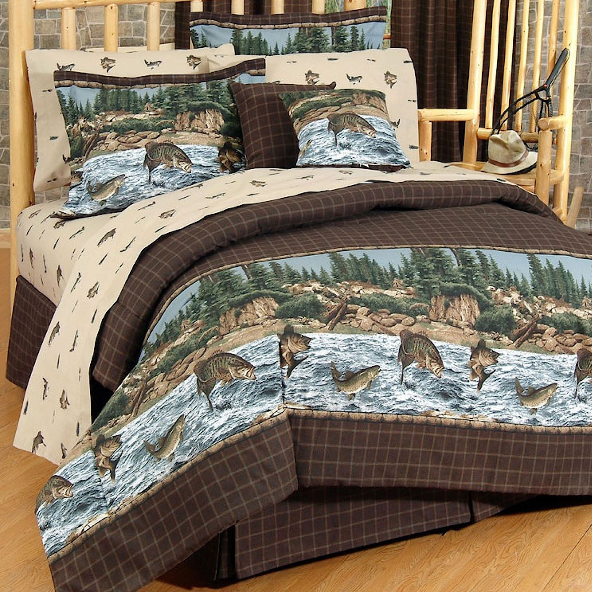 cabin decor sets comforter quilts lodge bedding all rustic comforters
