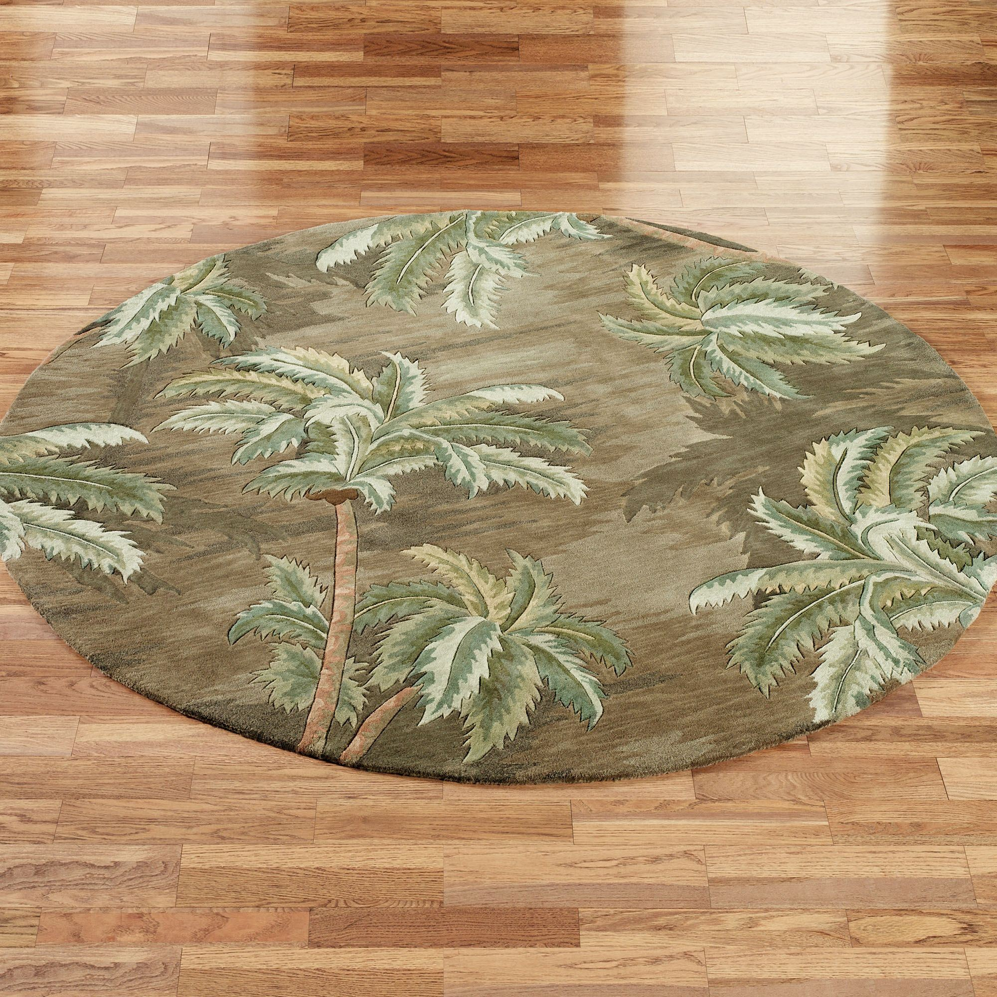 Palm Trees Area Rugs