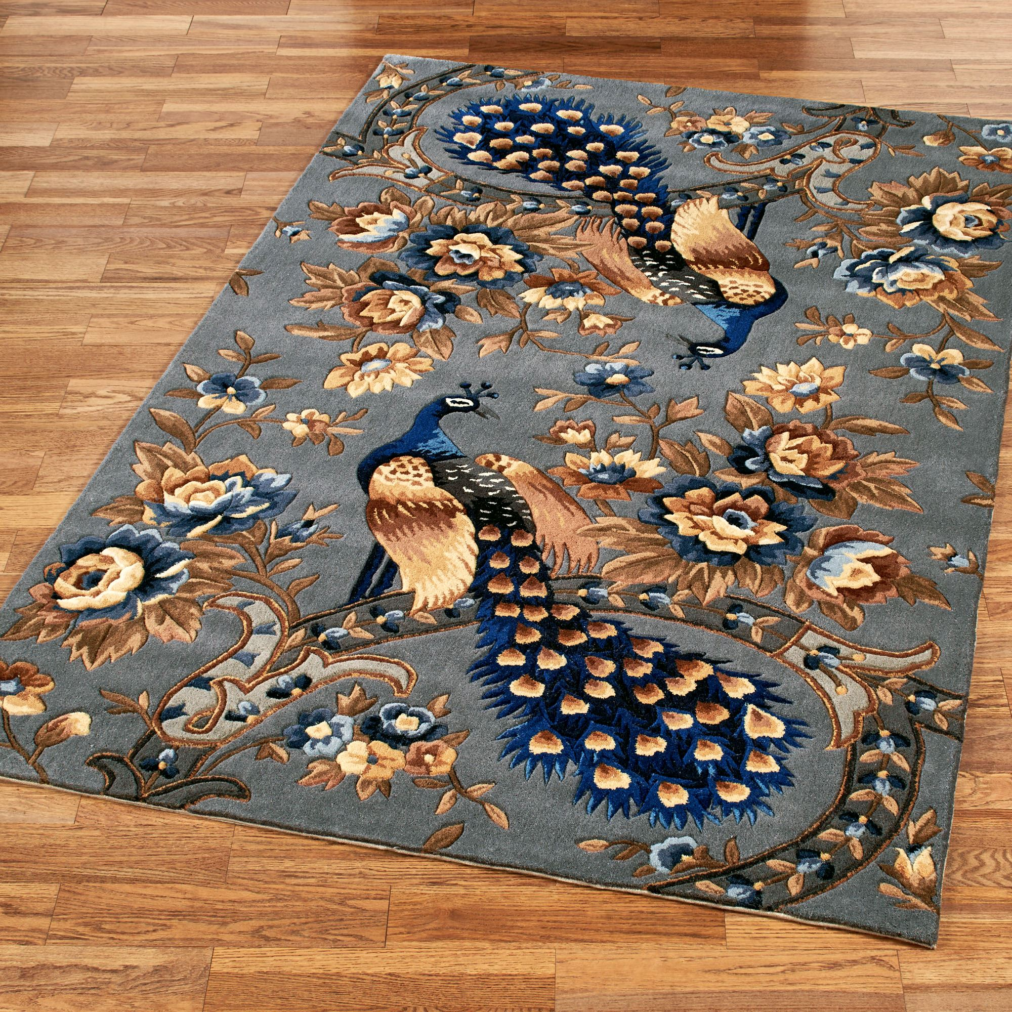 majestic peacock slate gray area rugs