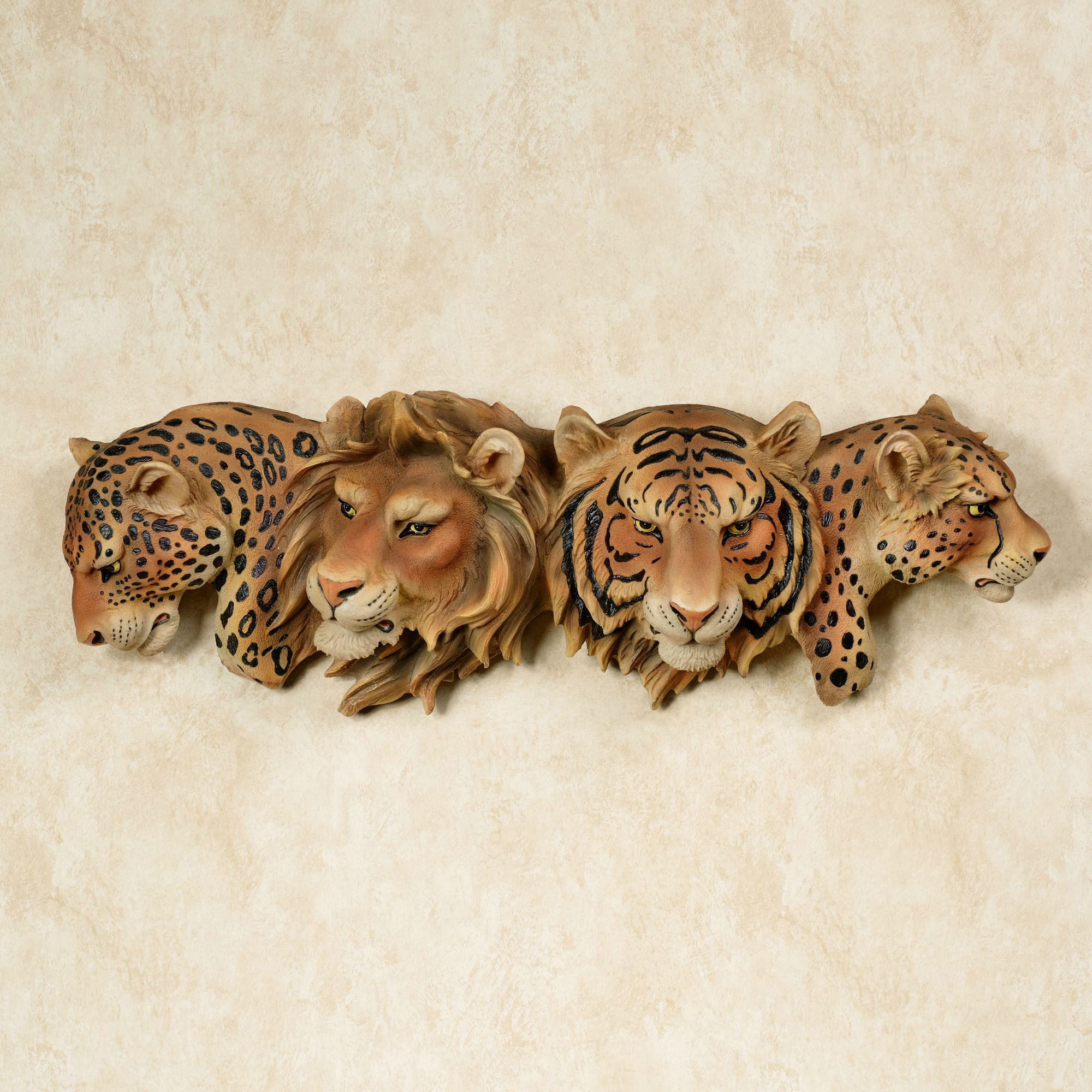 Majestic Pride Safari Cats Wall Art
