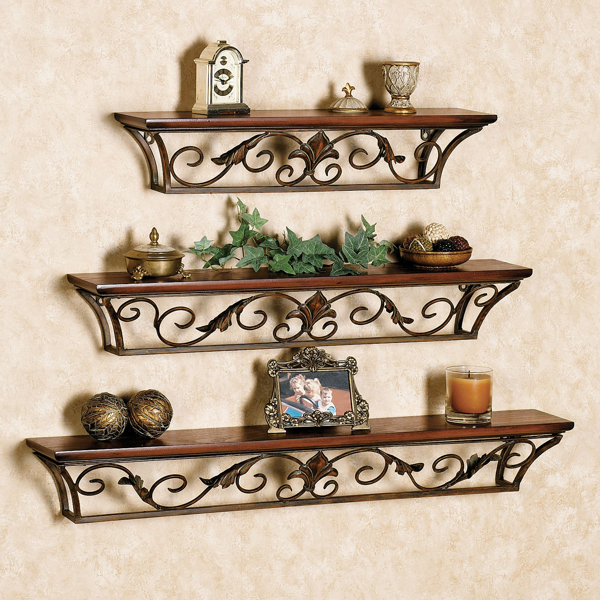 Dagian wall shelves - Wall metal shelf ...